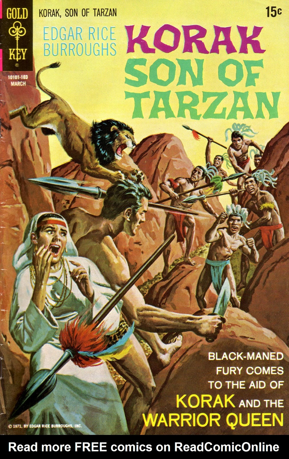 Korak, Son of Tarzan (1964) issue 40 - Page 1