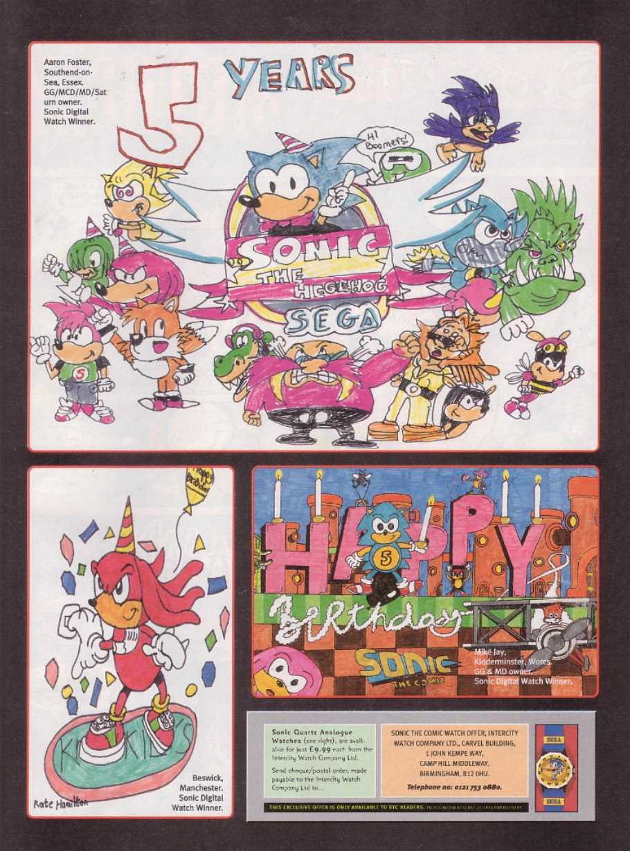 Read online Sonic the Comic comic -  Issue #130 - 22