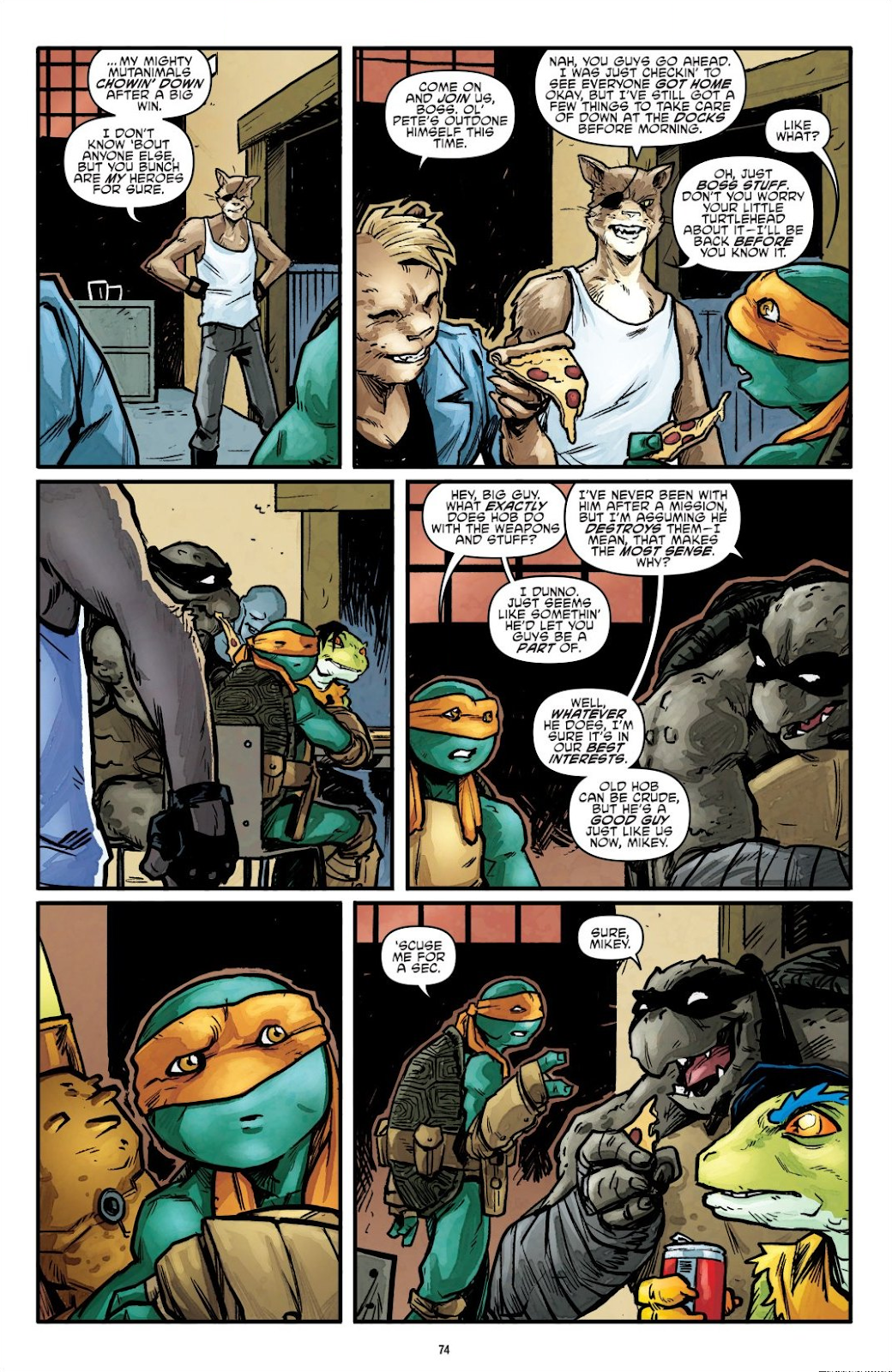 Read online Teenage Mutant Ninja Turtles: The IDW Collection comic -  Issue # TPB 7 (Part 1) - 73