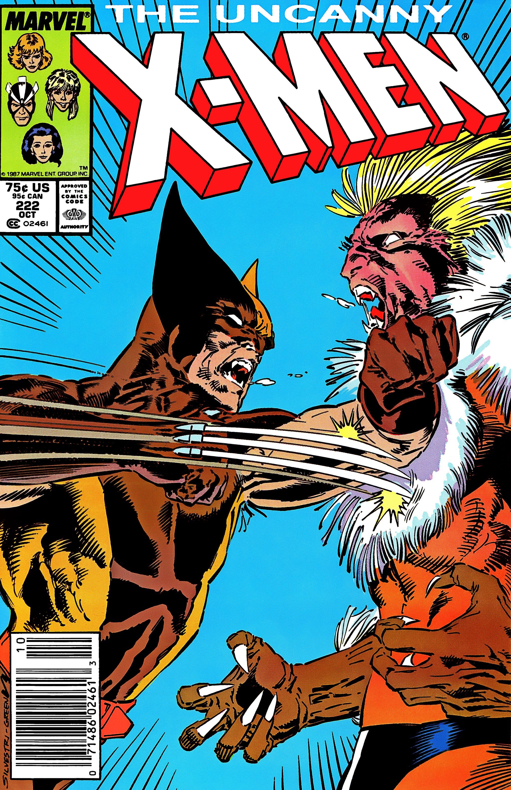 Uncanny X-Men (1963) 222 Page 1