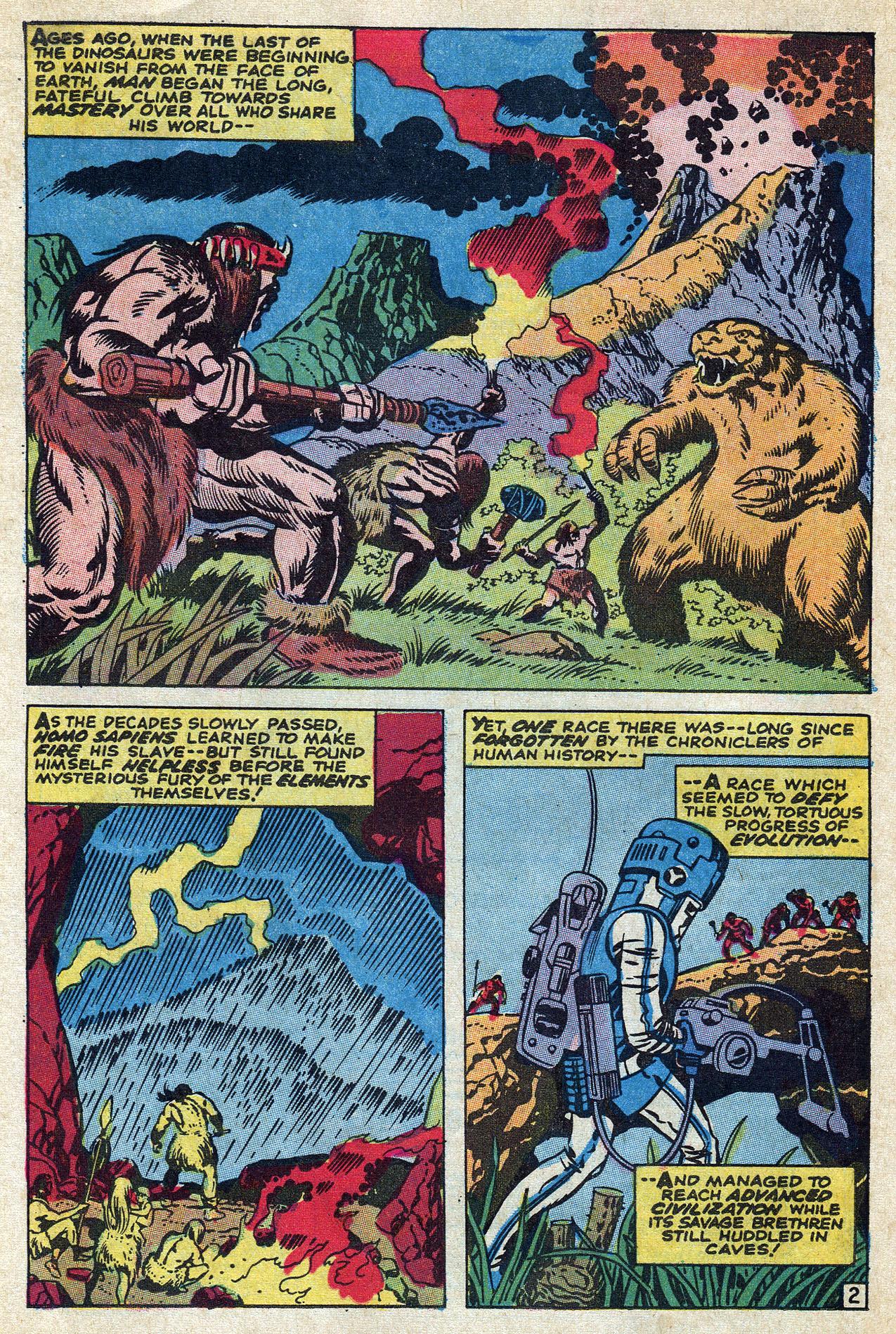 Read online Amazing Adventures (1970) comic -  Issue #10 - 26