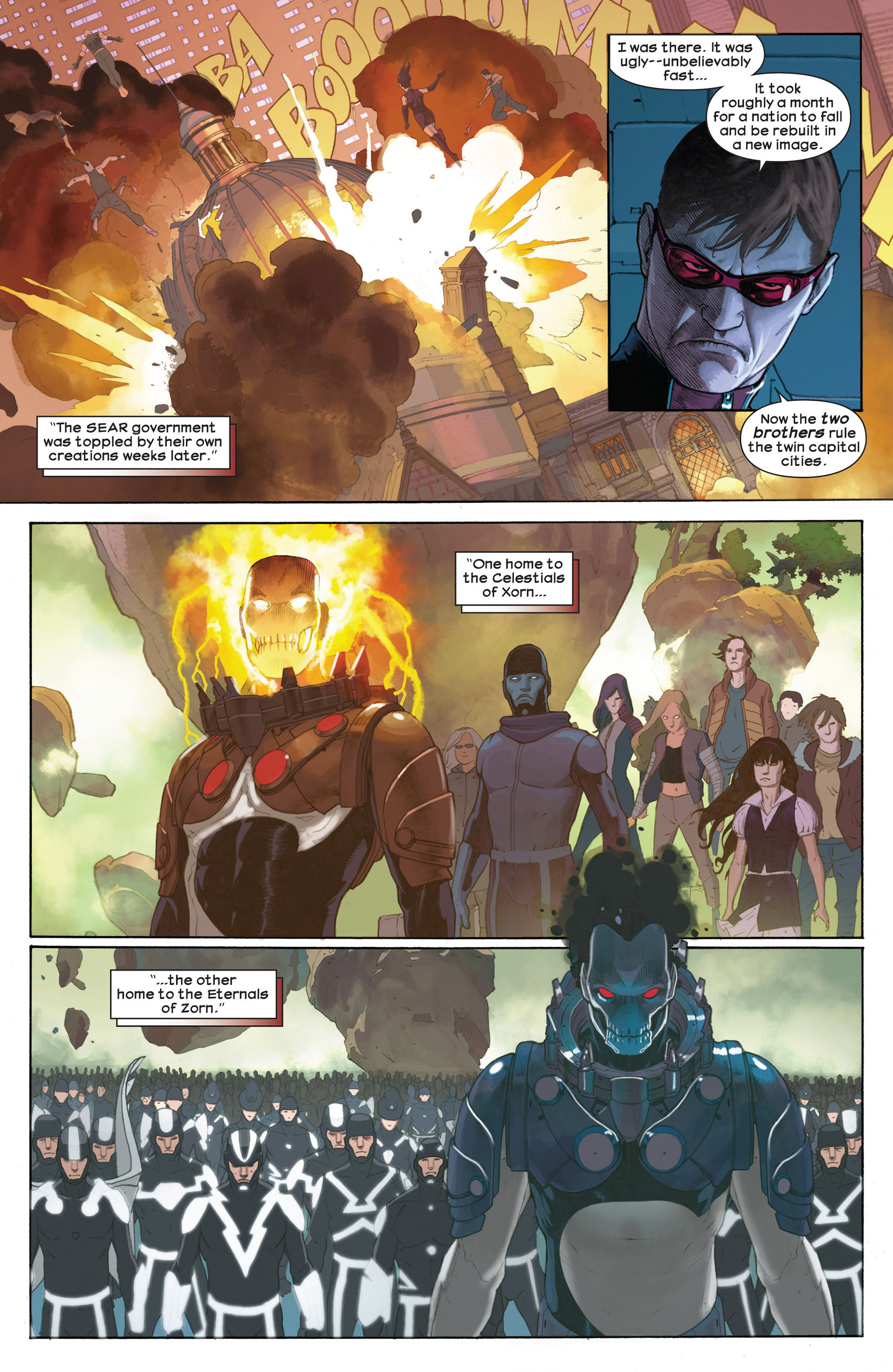 Read online Ultimate Comics Ultimates comic -  Issue #7 - 7