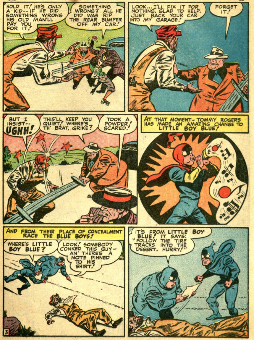 Read online Sensation (Mystery) Comics comic -  Issue #69 - 21