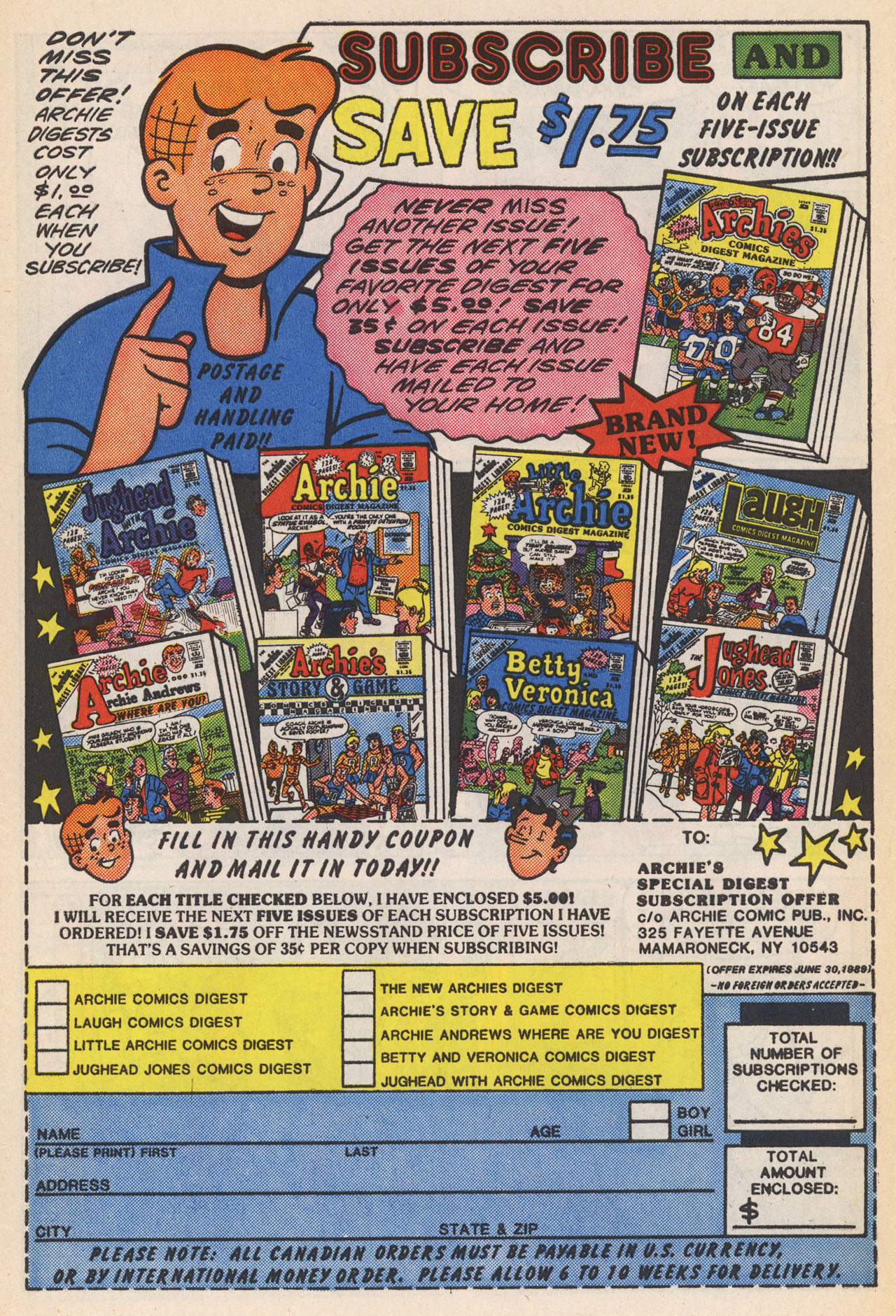 Read online Archie (1960) comic -  Issue #364 - 34