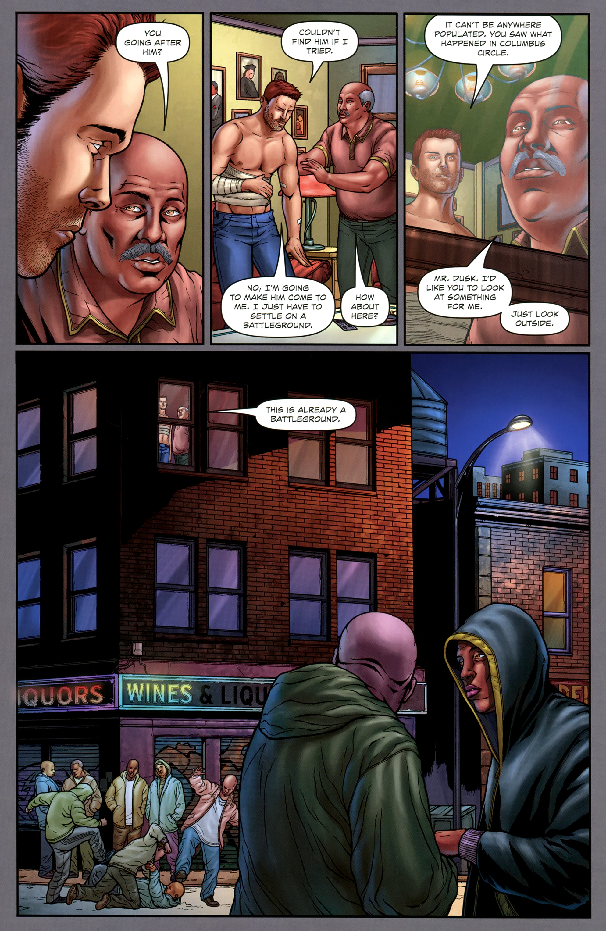 Read online Absolution: Rubicon comic -  Issue #3 - 12