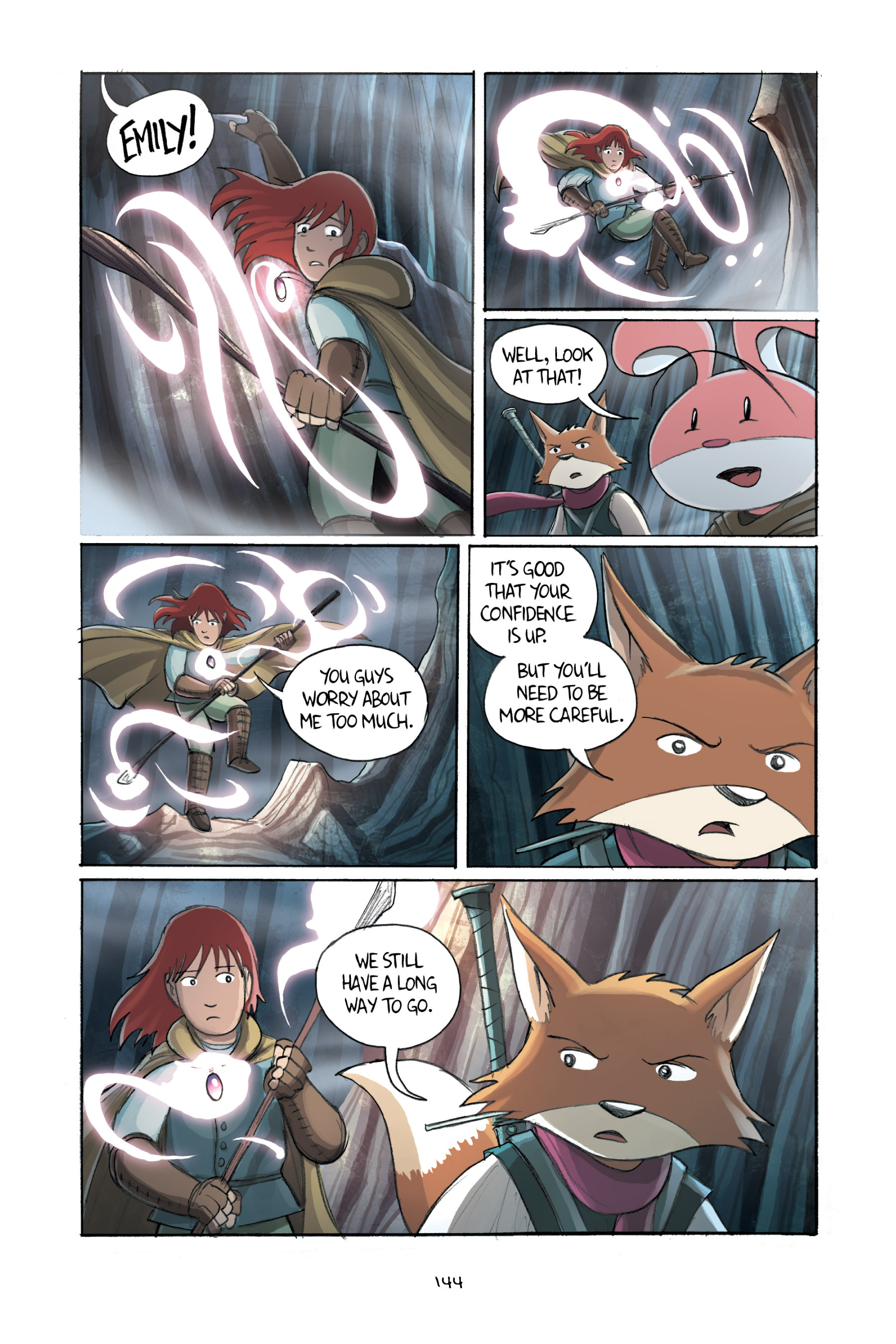 Read online Amulet comic -  Issue #2 - 143