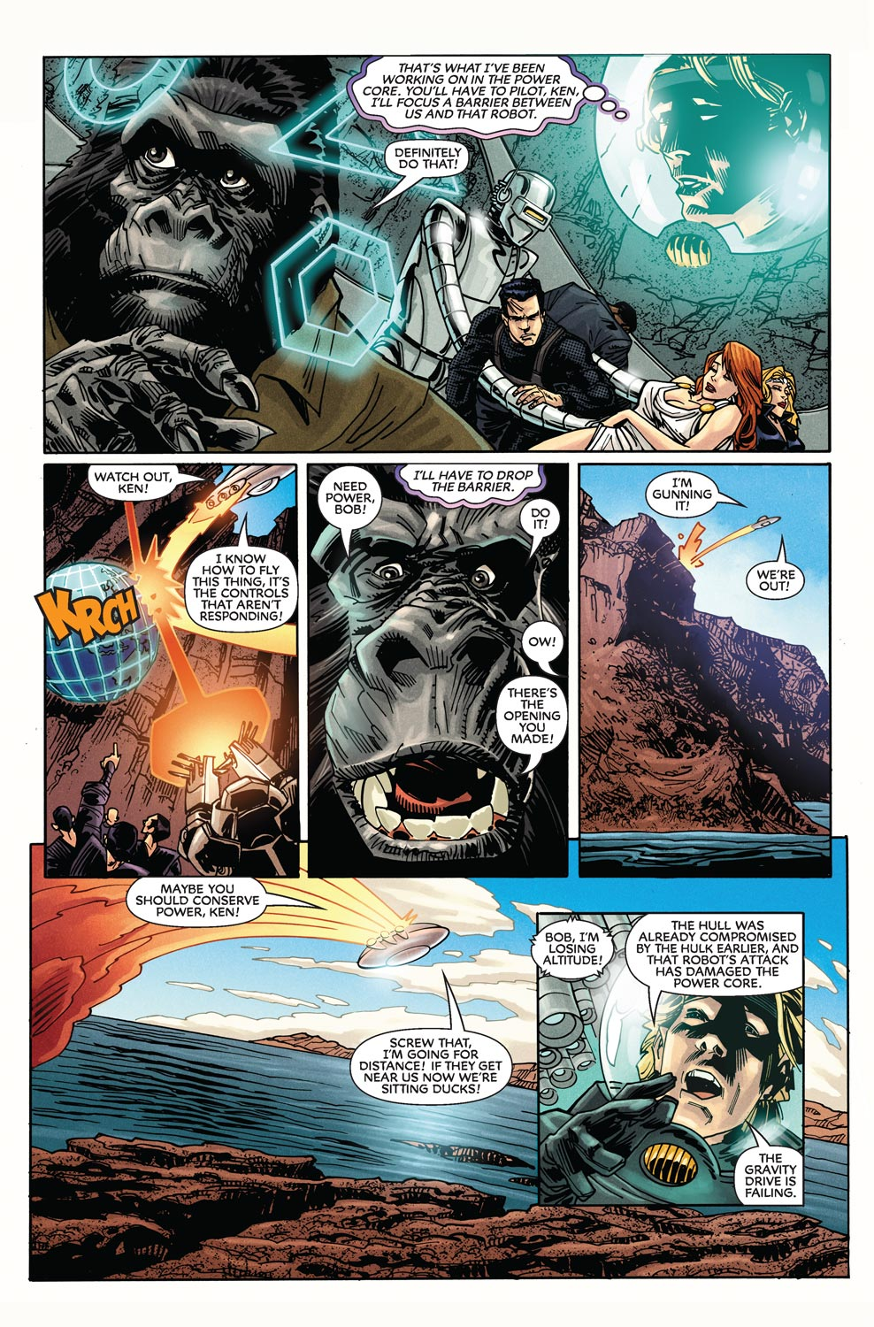 Read online Agents Of Atlas (2009) comic -  Issue #9 - 21