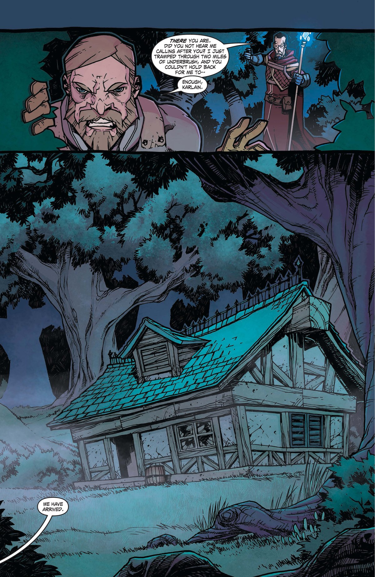 Read online World of Warcraft: Dark Riders comic -  Issue # Full - 45
