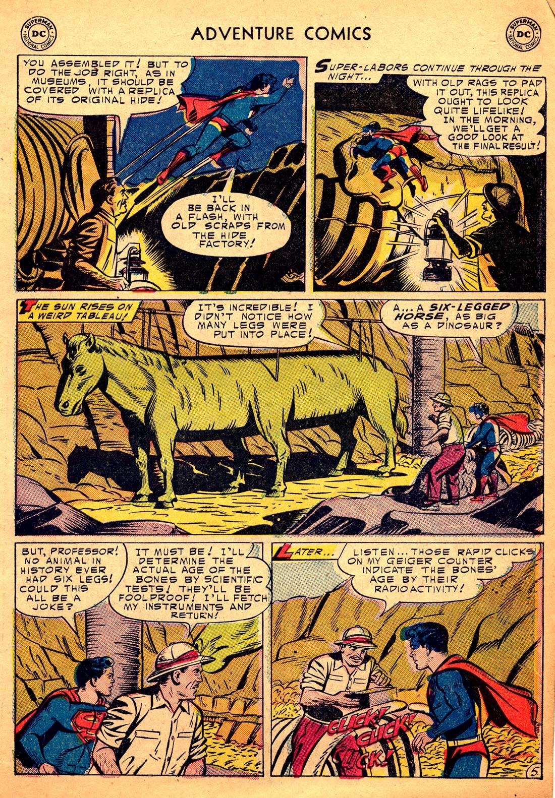 Read online Adventure Comics (1938) comic -  Issue #206 - 7