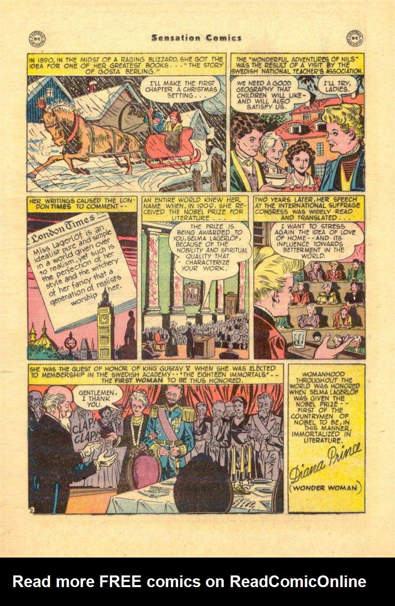 Read online Sensation (Mystery) Comics comic -  Issue #84 - 31