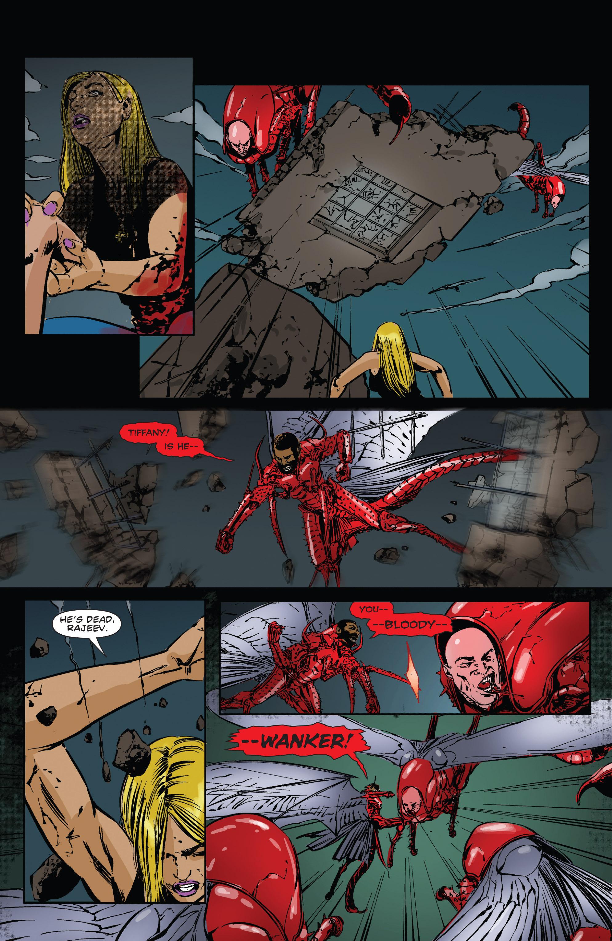 Read online Clive Barker's Hellraiser: The Dark Watch comic -  Issue # TPB 3 - 93