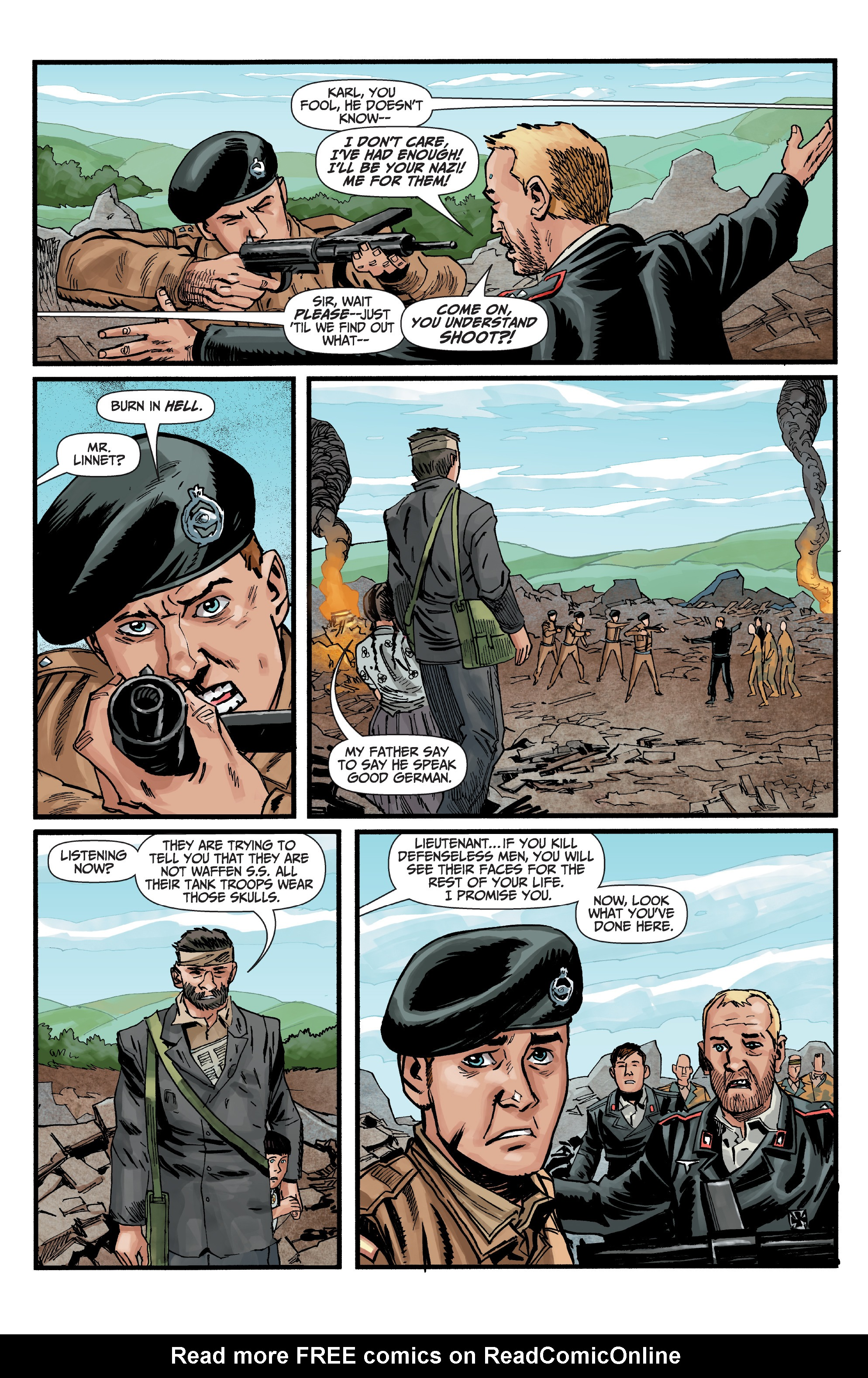 Read online World of Tanks comic -  Issue #5 - 19