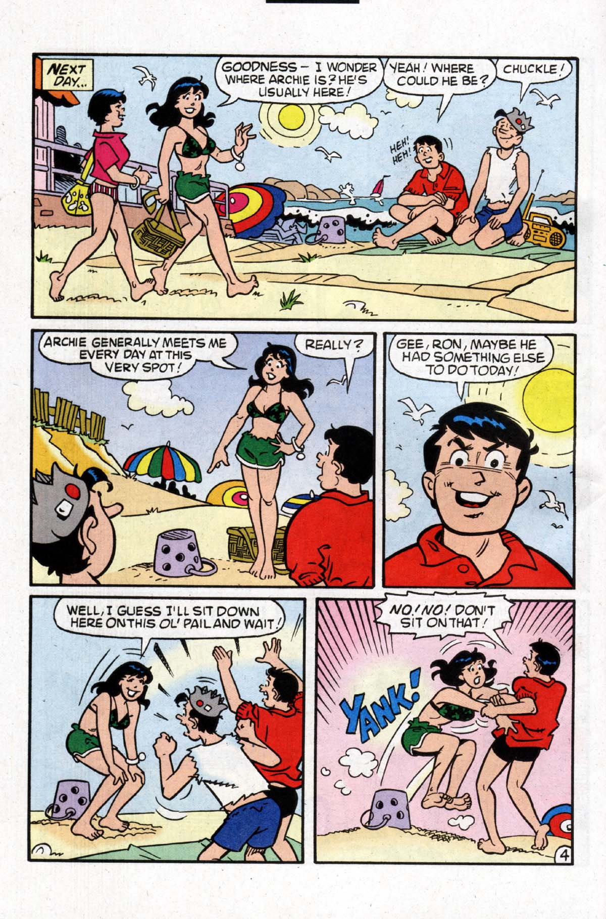 Read online Archie (1960) comic -  Issue #526 - 5