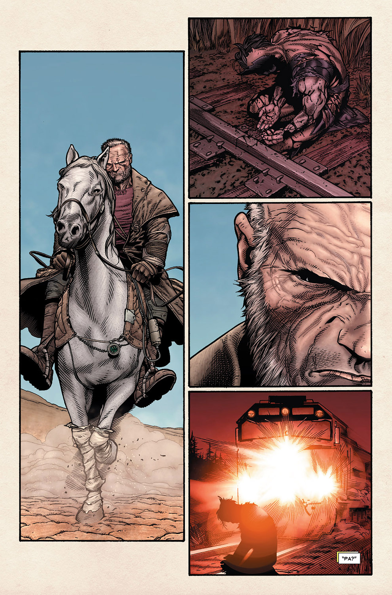 Read online Wolverine: Old Man Logan comic -  Issue # Full - 6
