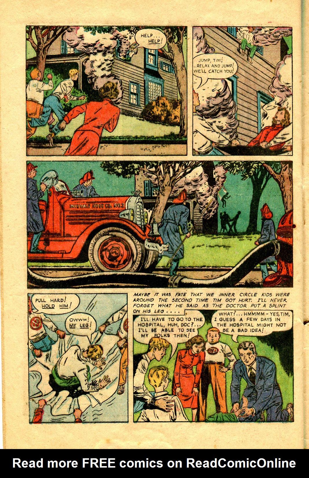 Read online Shadow Comics comic -  Issue #100 - 42
