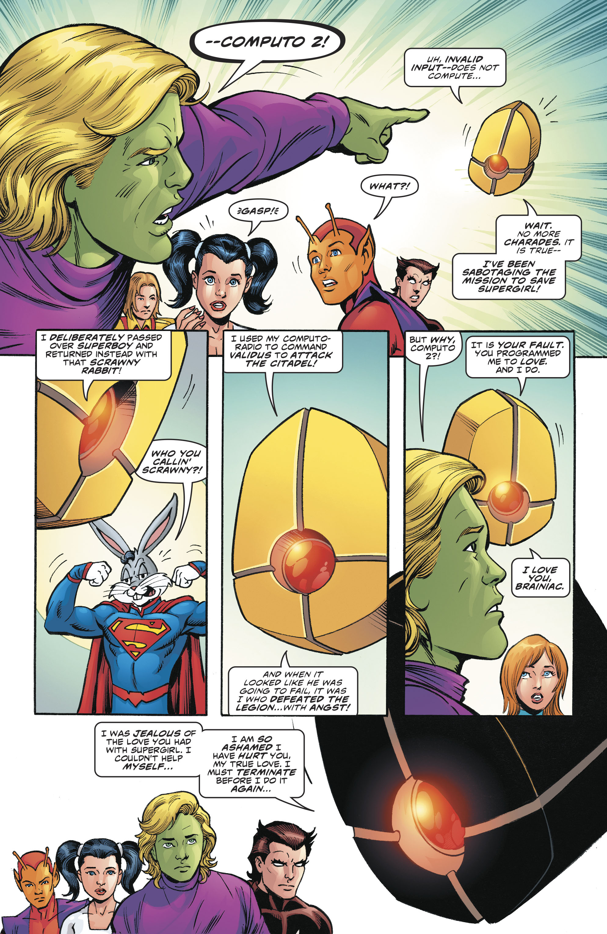 Read online Legion of Super-Heroes/Bugs Bunny Special comic -  Issue # Full - 30