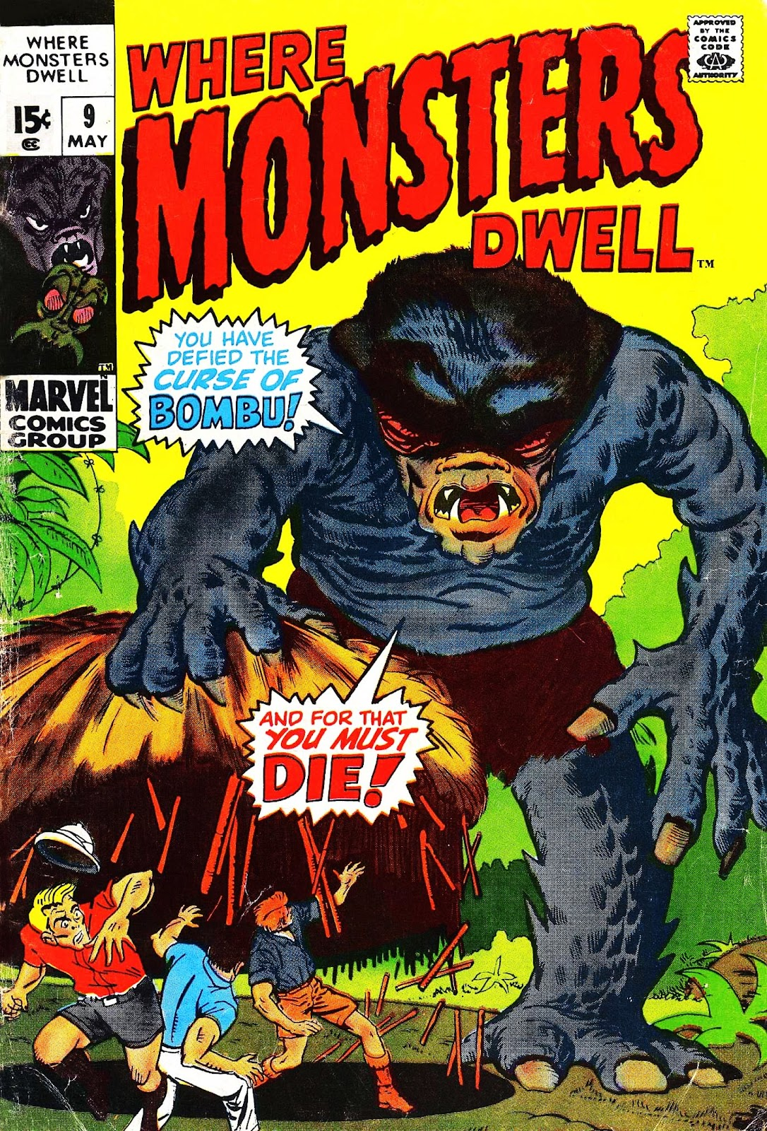 Where Monsters Dwell (1970) 9 Page 1