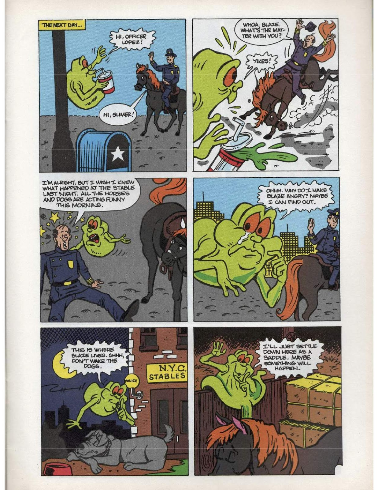 The Real Ghostbusters Issue #193 #167 - English 5