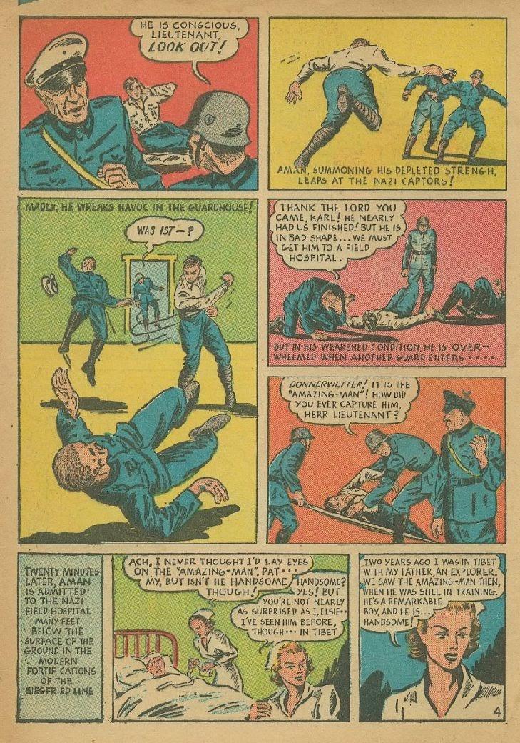Read online Amazing Man Comics comic -  Issue #9 - 7