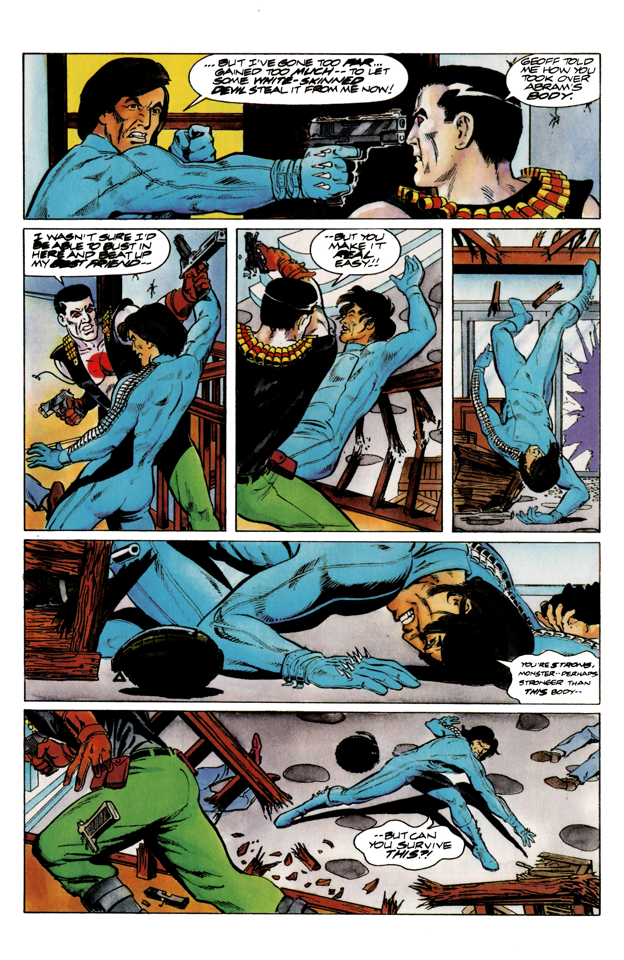 Read online Eternal Warrior (1992) comic -  Issue #14 - 14