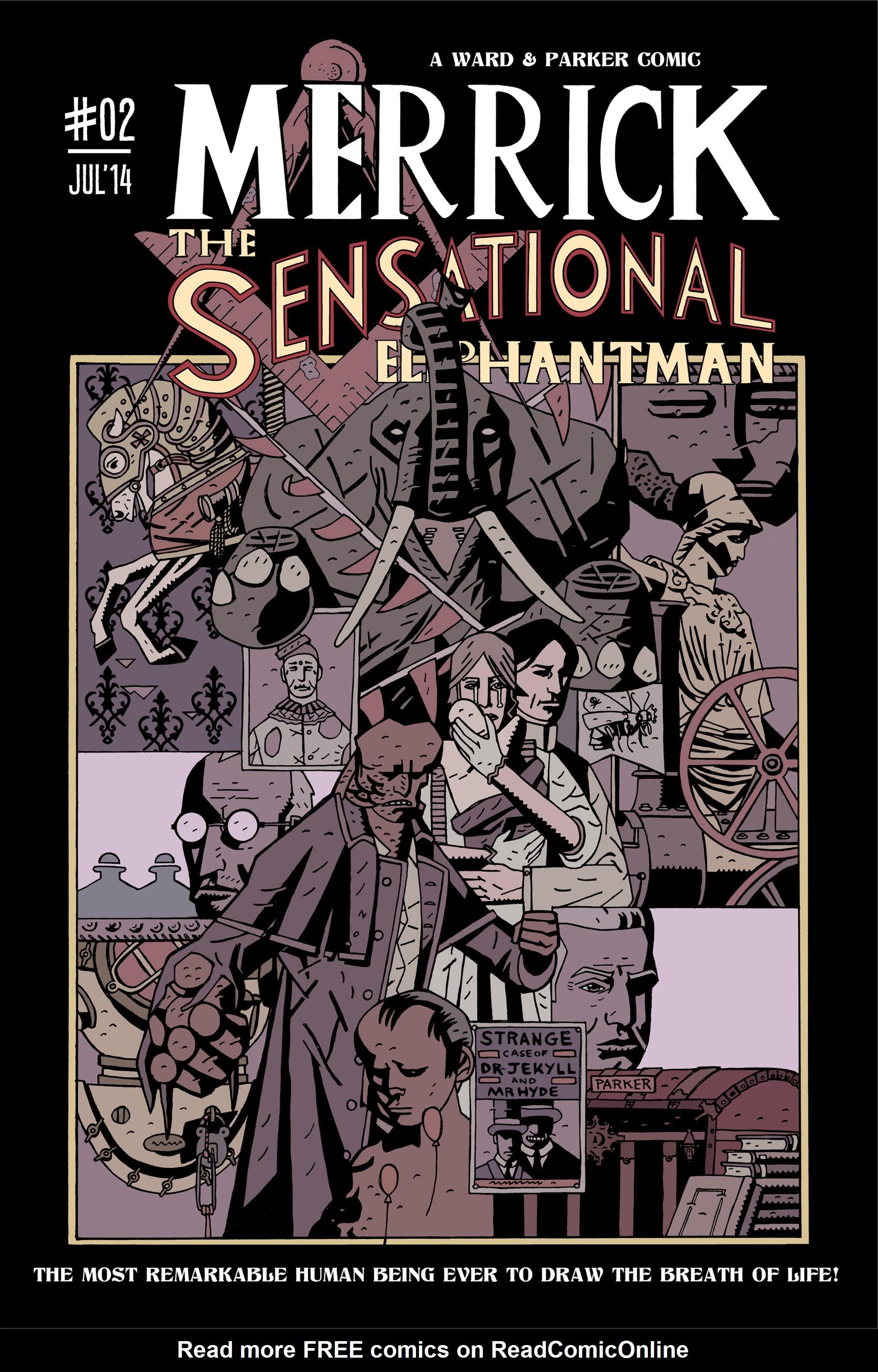 Merrick: The Sensational Elephantman 2 Page 1