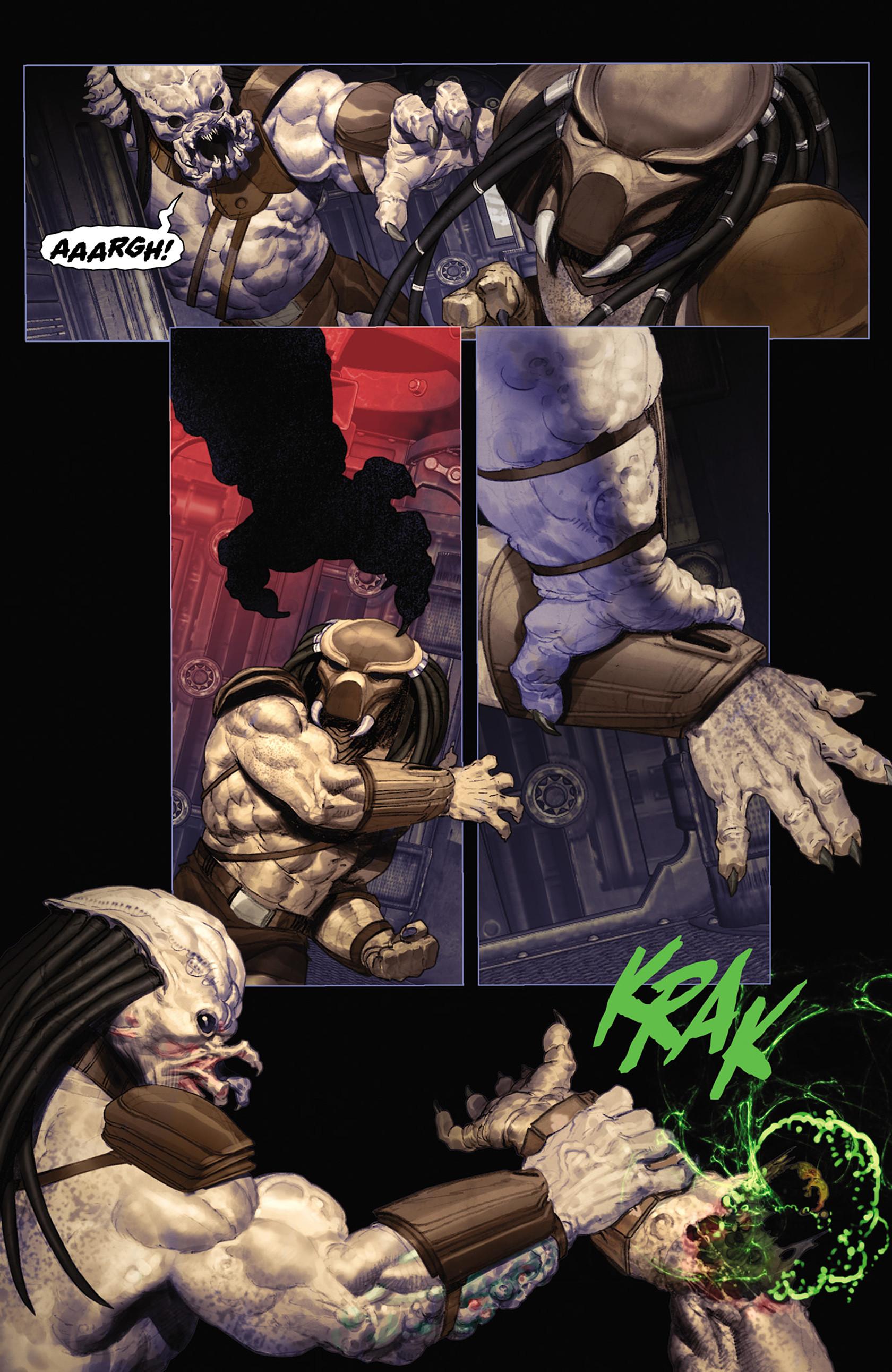 Read online Alien vs. Predator: Fire and Stone comic -  Issue #2 - 18