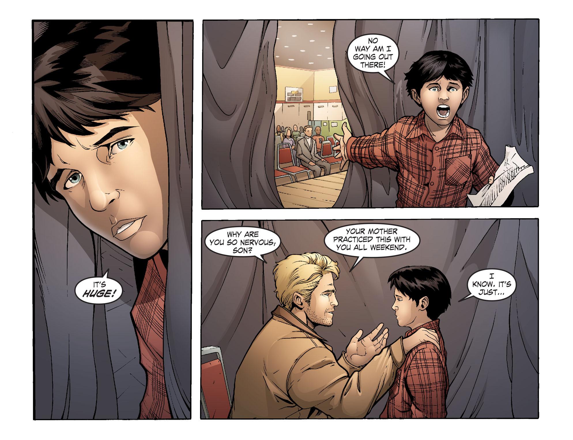 Read online Smallville: Alien comic -  Issue #1 - 5