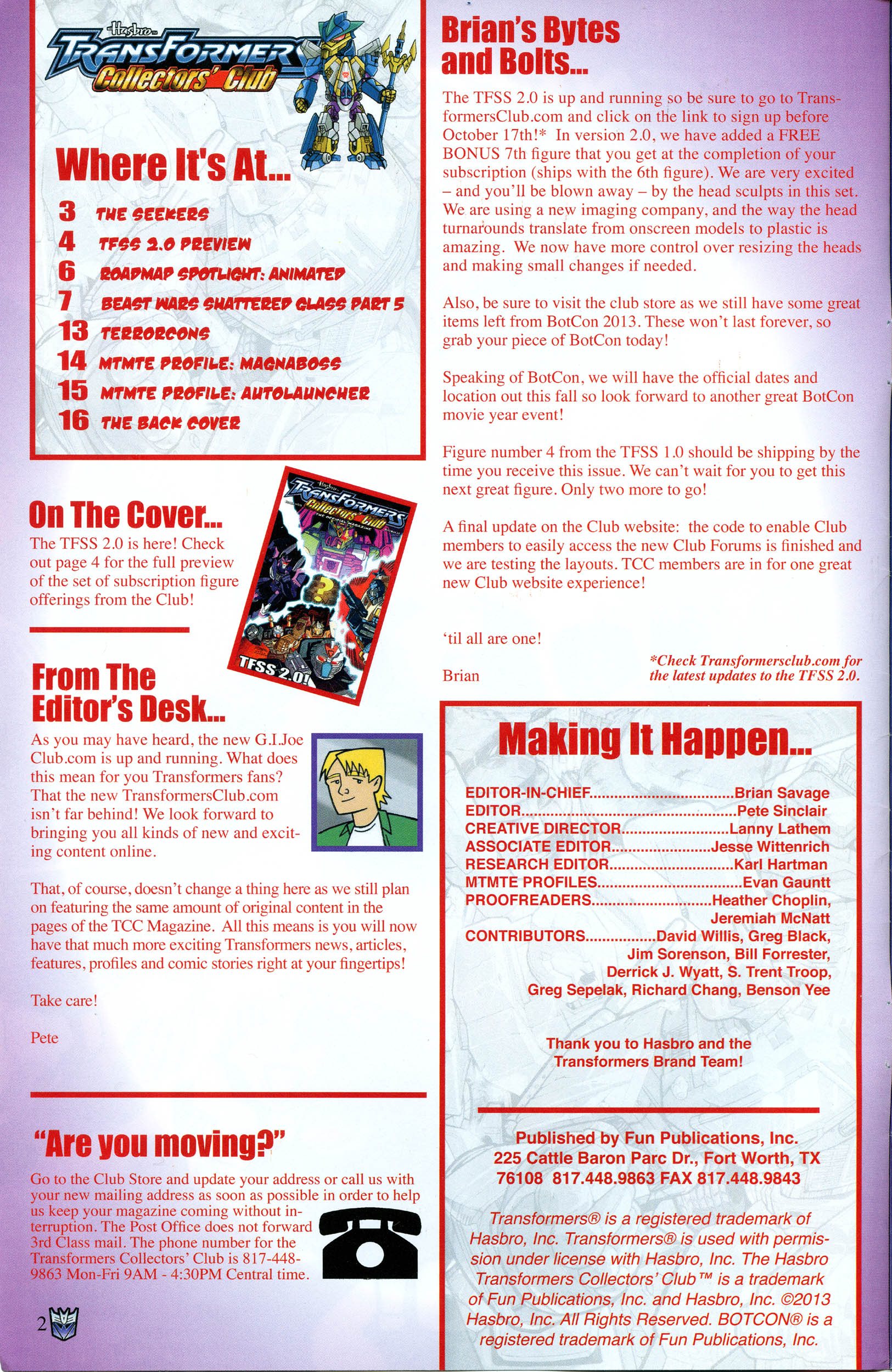 Read online Transformers: Collectors' Club comic -  Issue #53 - 2