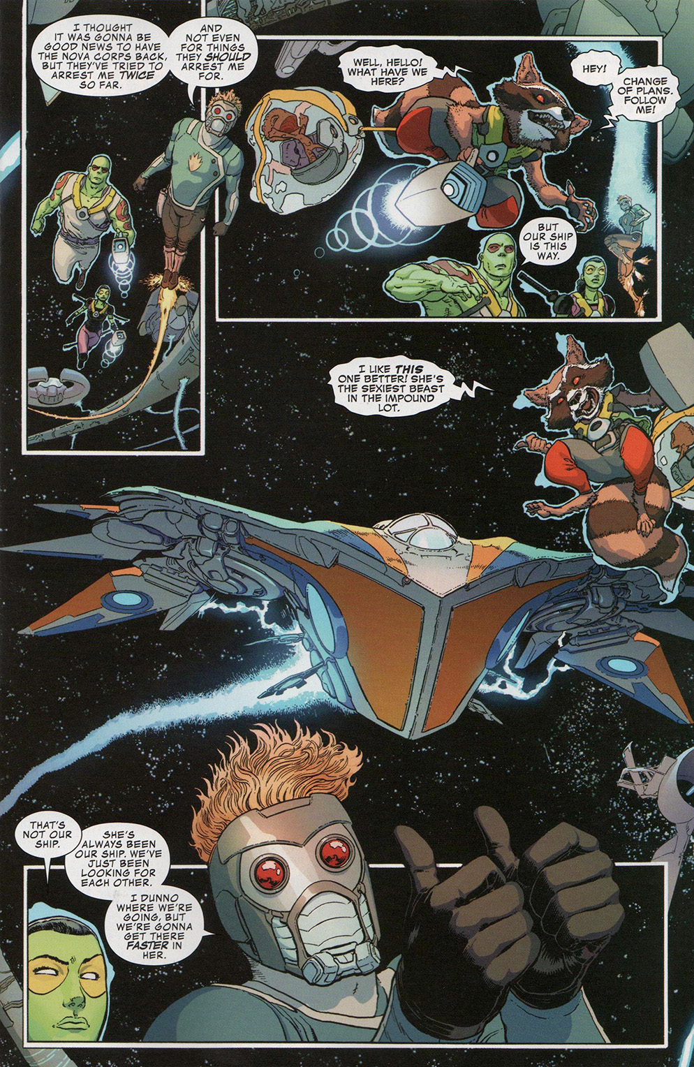 Read online Free Comic Book Day 2017 comic -  Issue # All-New Guardians of the Galaxy - 8