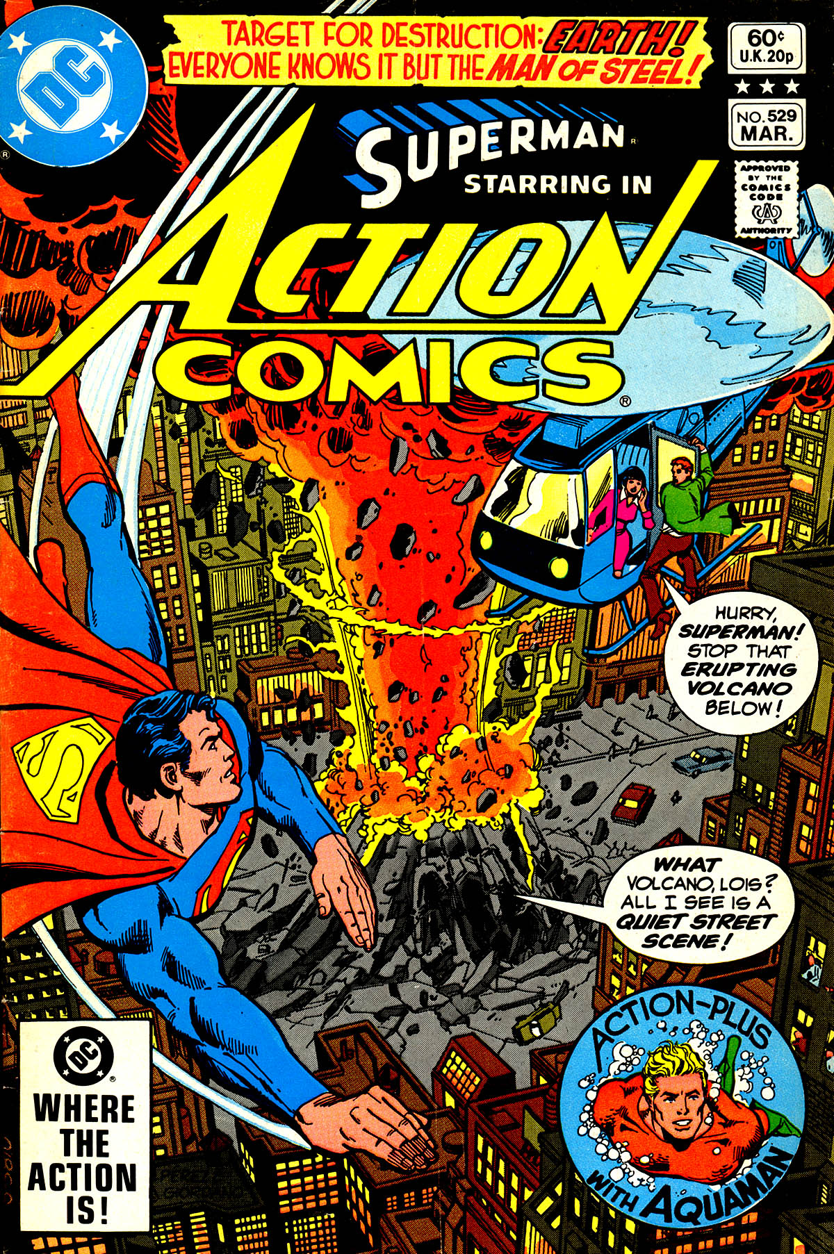 Read online Action Comics (1938) comic -  Issue #529 - 1