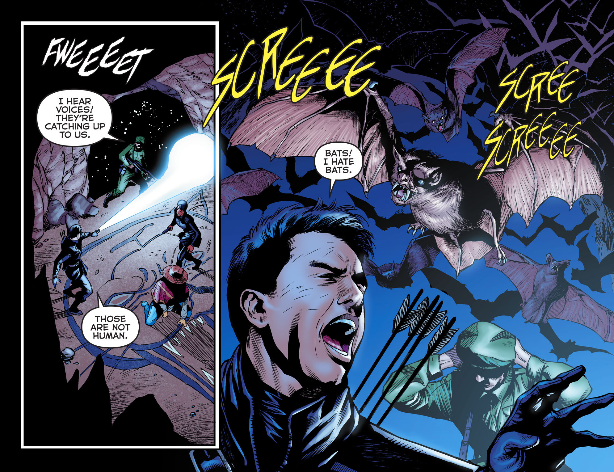Read online Arrow: The Dark Archer comic -  Issue #3 - 15