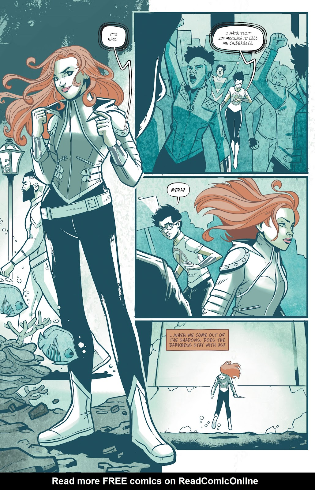 Read online Mera: Tidebreaker comic -  Issue # TPB (Part 1) - 10