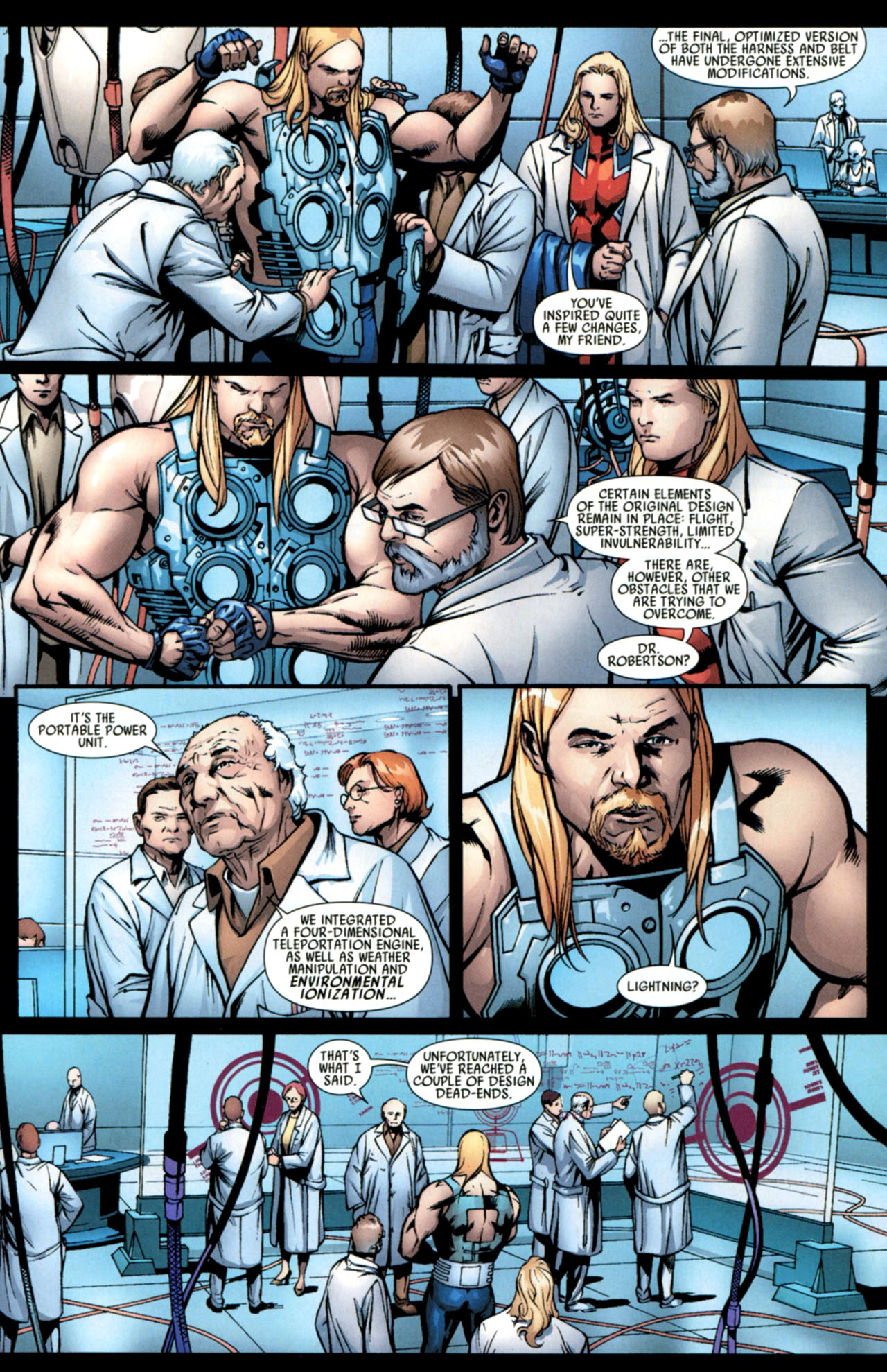 Read online Ultimate Thor comic -  Issue #4 - 8