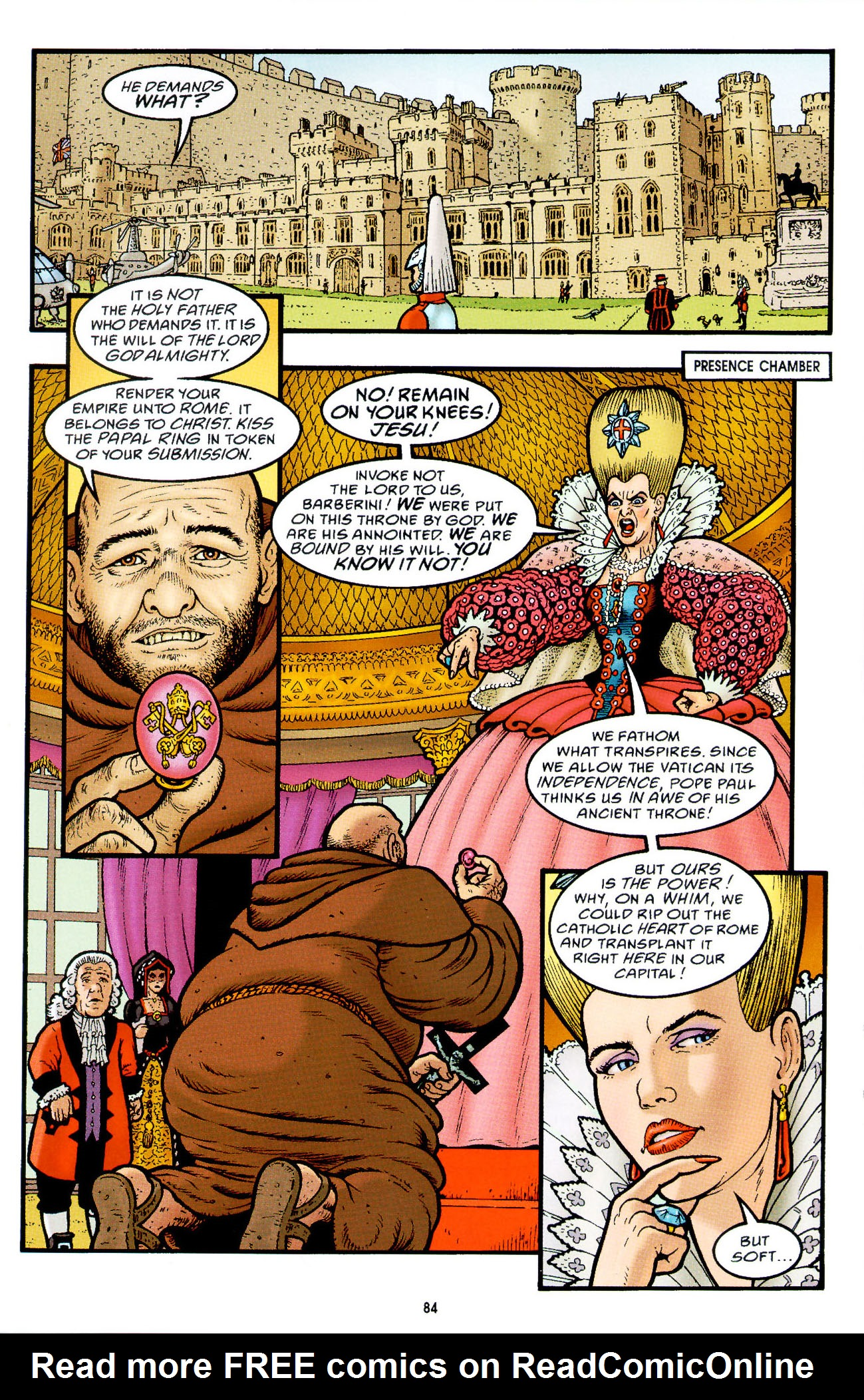 Read online Heart of Empire comic -  Issue #3 - 26