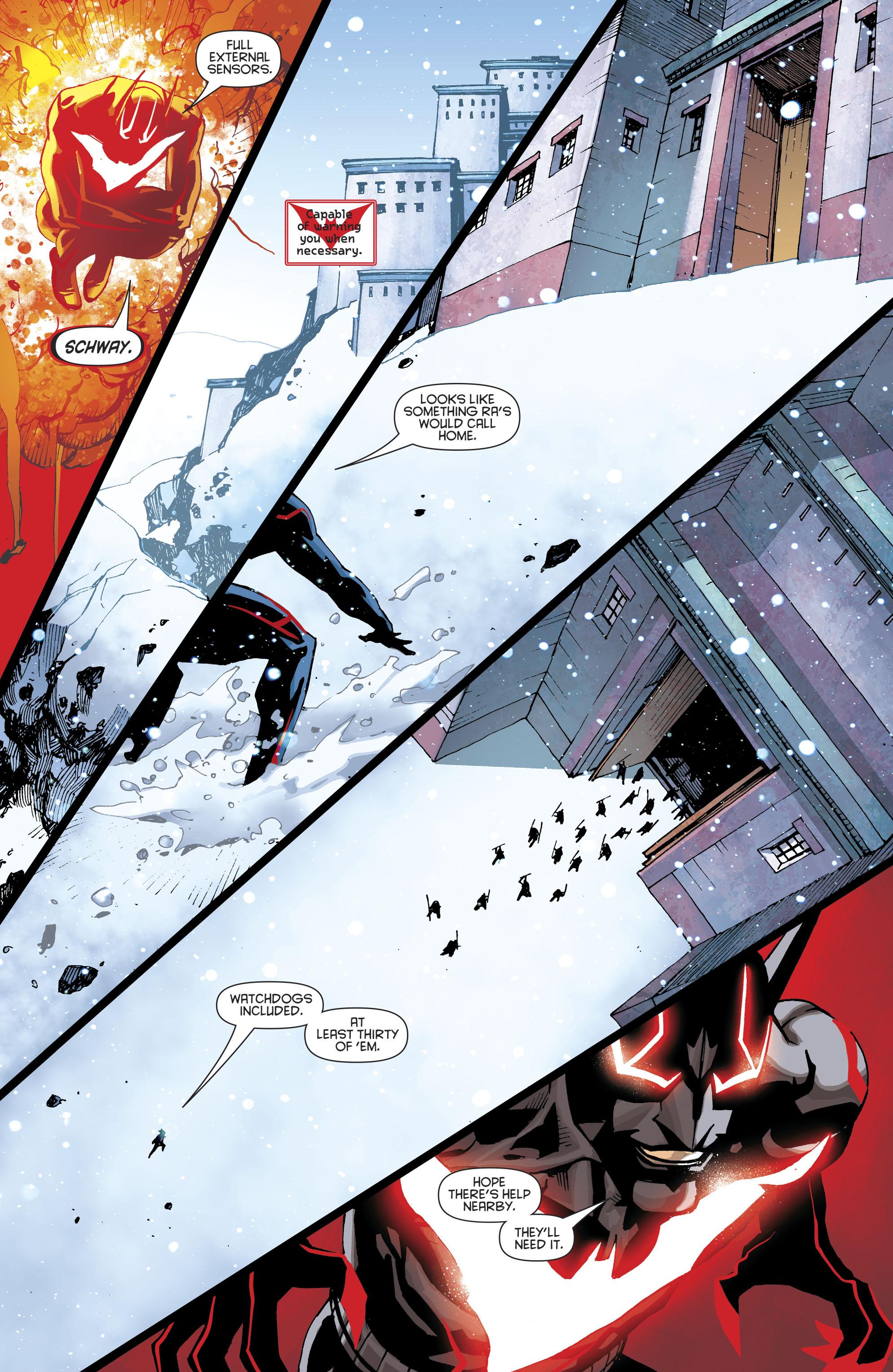 Read online Batman Beyond (2016) comic -  Issue #8 - 17