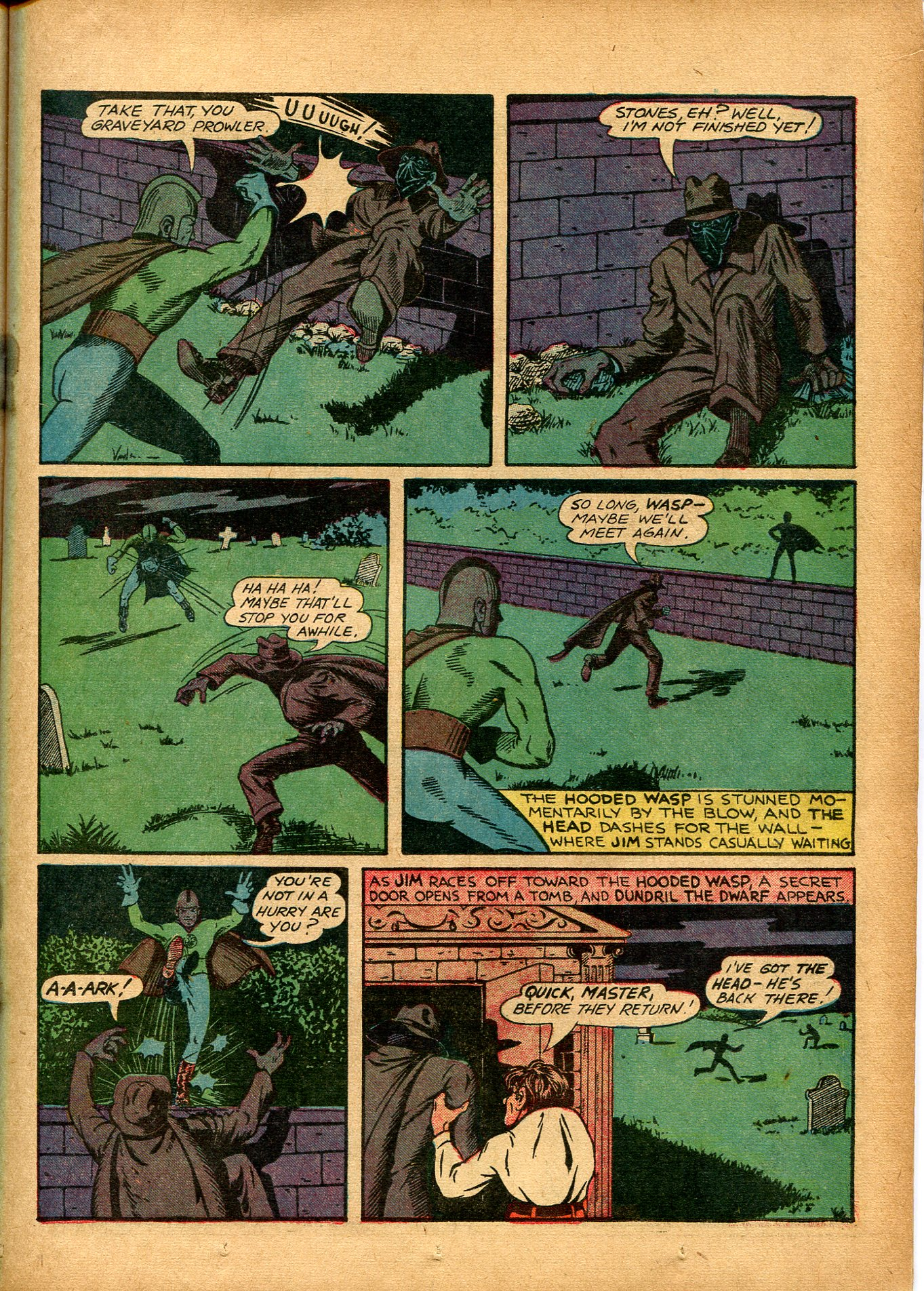 Read online Shadow Comics comic -  Issue #8 - 27