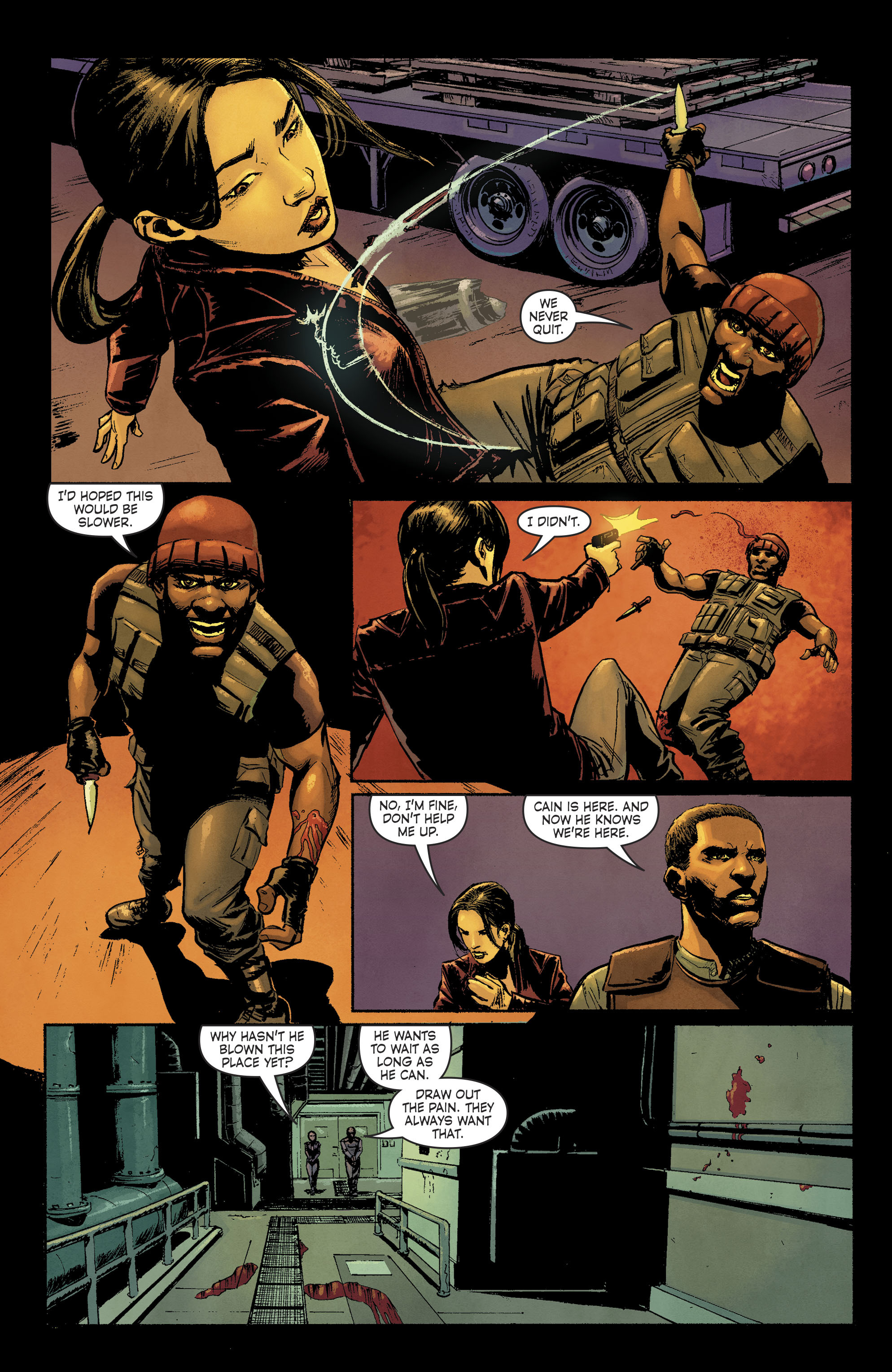 Read online Savage Things comic -  Issue #3 - 15