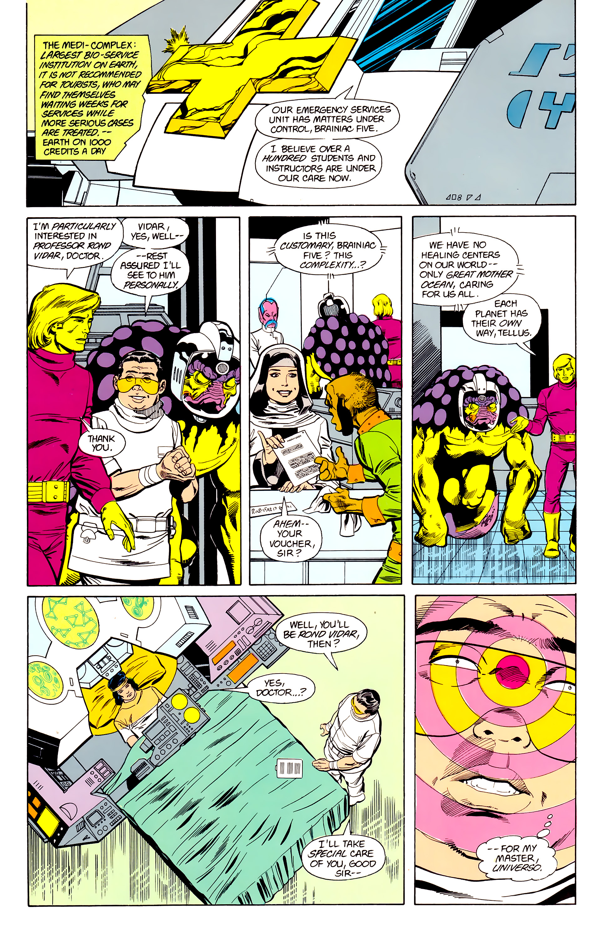 Legion of Super-Heroes (1984) 22 Page 13