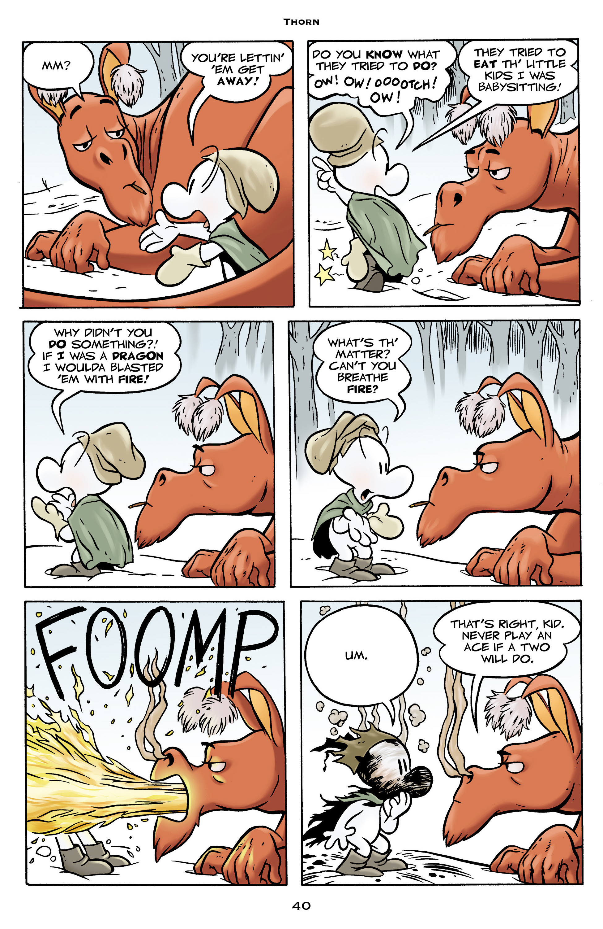 Read online Bone: Out From Boneville comic -  Issue # TPB - 40