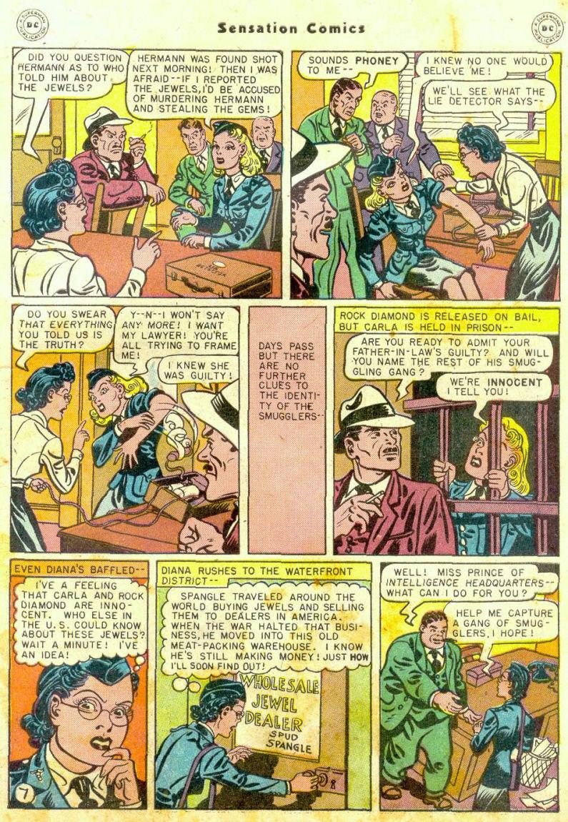 Read online Sensation (Mystery) Comics comic -  Issue #74 - 9