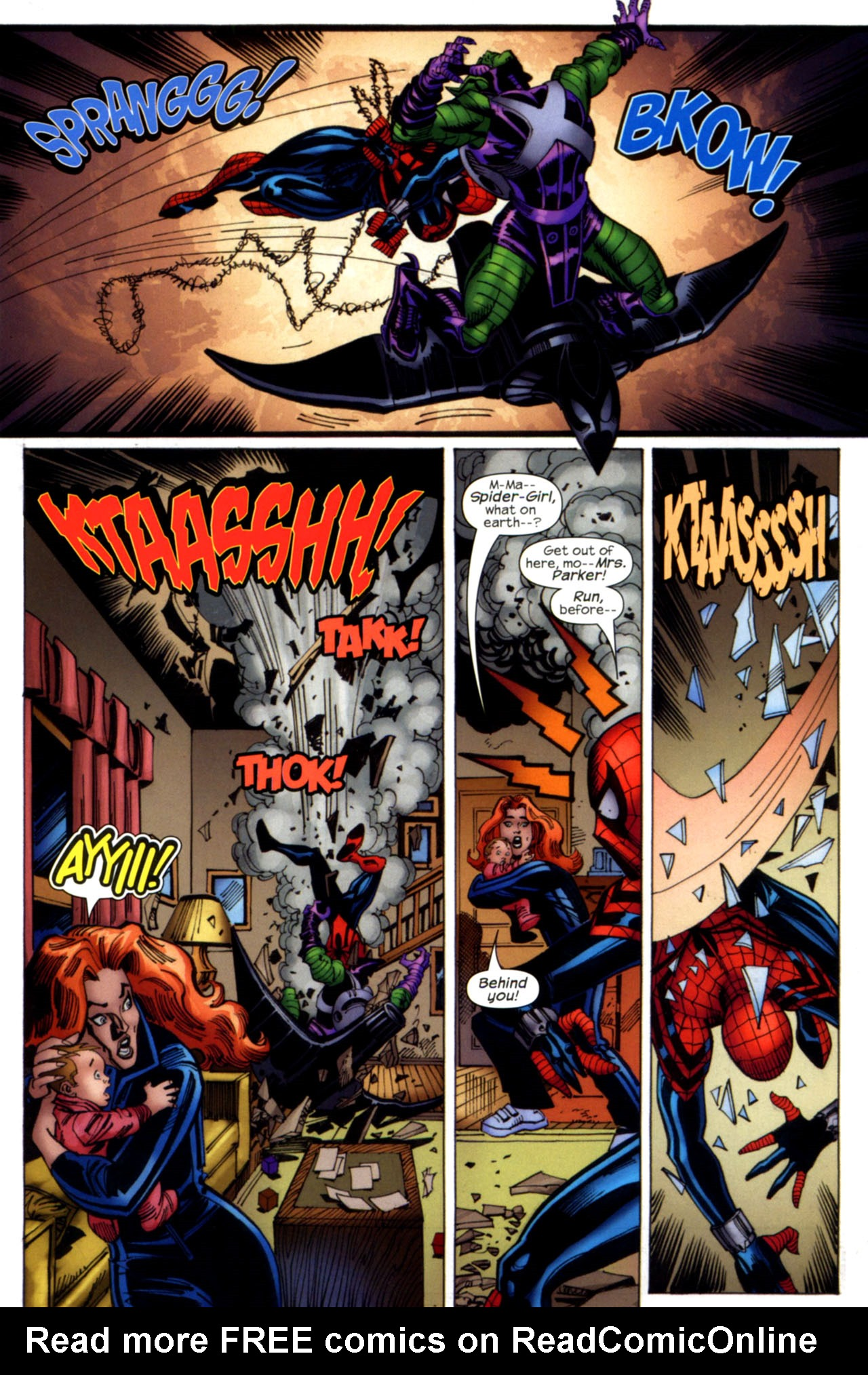 Read online Amazing Spider-Girl comic -  Issue #28 - 22