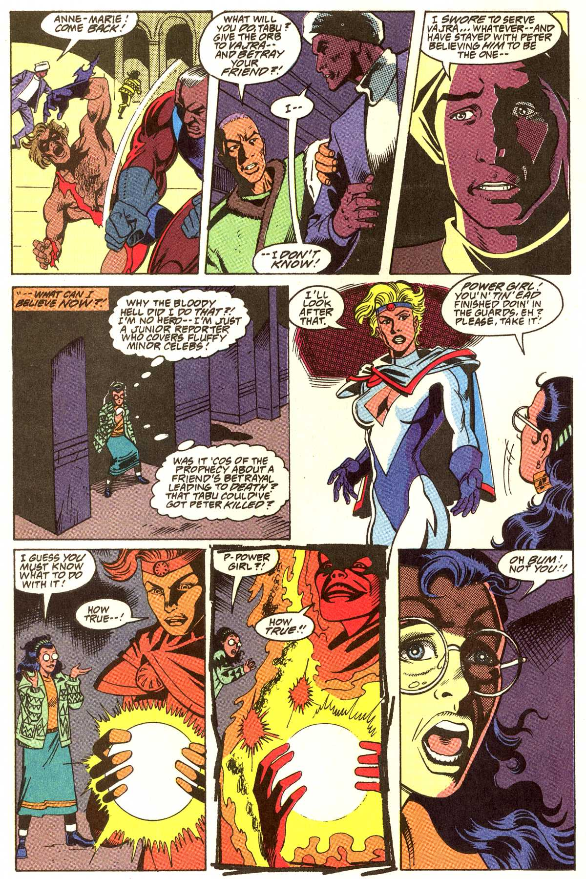 Read online Peter Cannon--Thunderbolt (1992) comic -  Issue #12 - 5