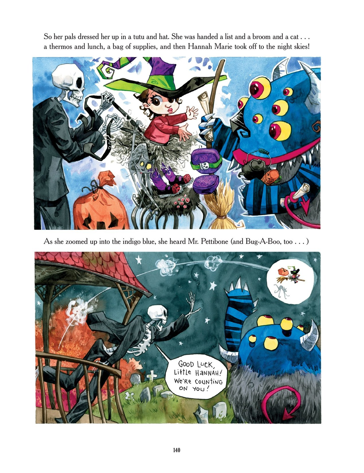 Read online Scary Godmother comic -  Issue # TPB - 140