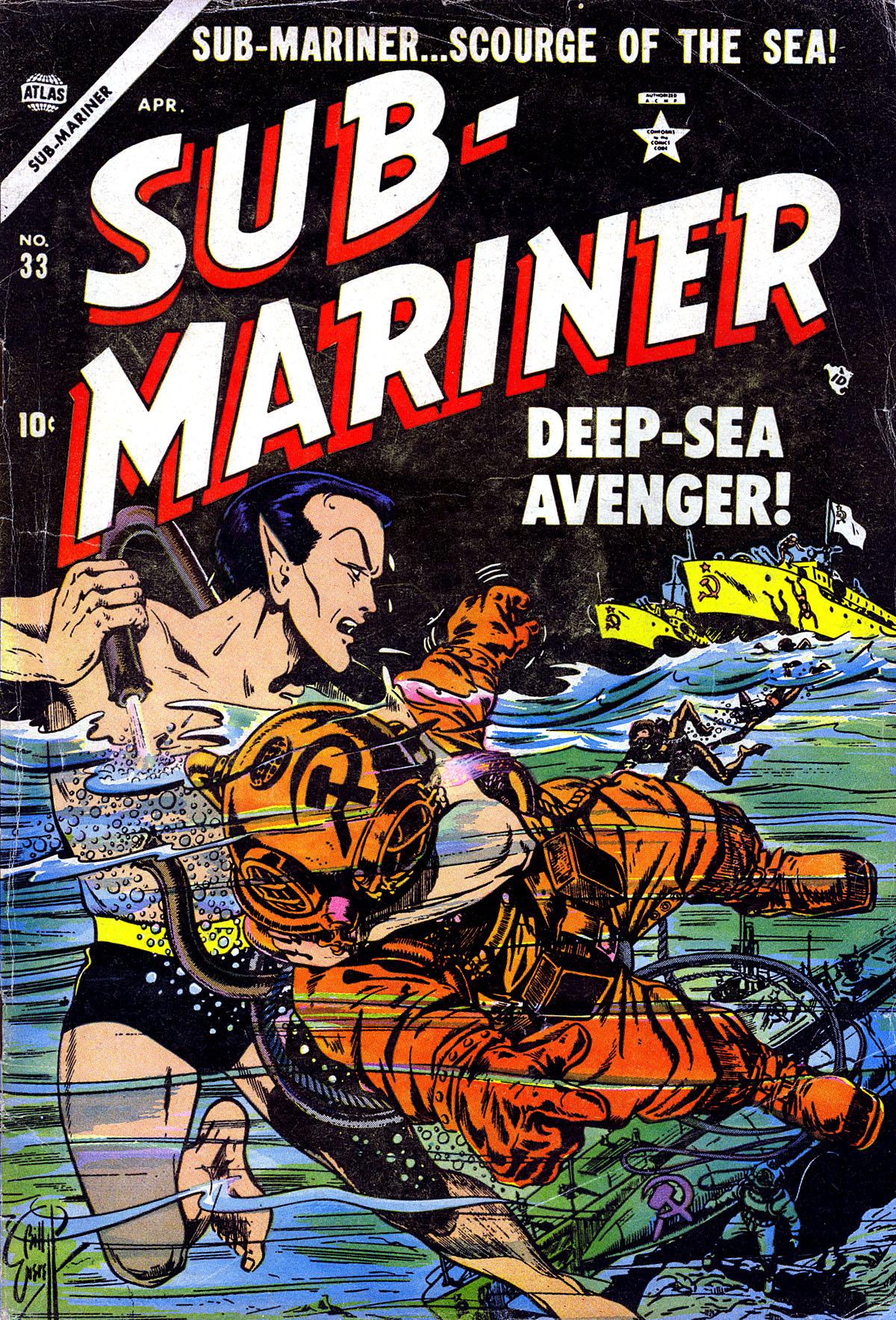 Sub-Mariner Comics 33 Page 1
