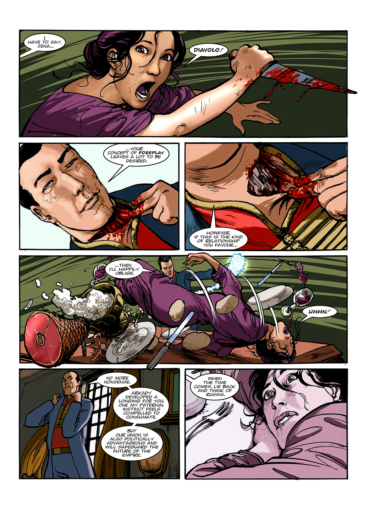 Read online Nikolai Dante comic -  Issue # TPB 10 - 141