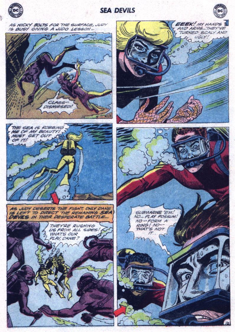 Read online Sea Devils comic -  Issue #23 - 20