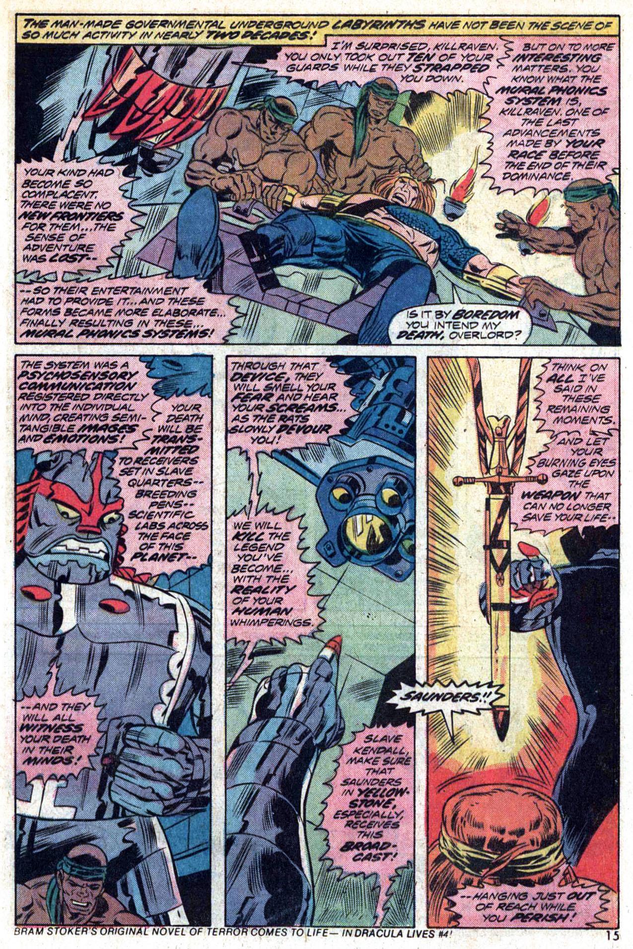 Read online Amazing Adventures (1970) comic -  Issue #23 - 16