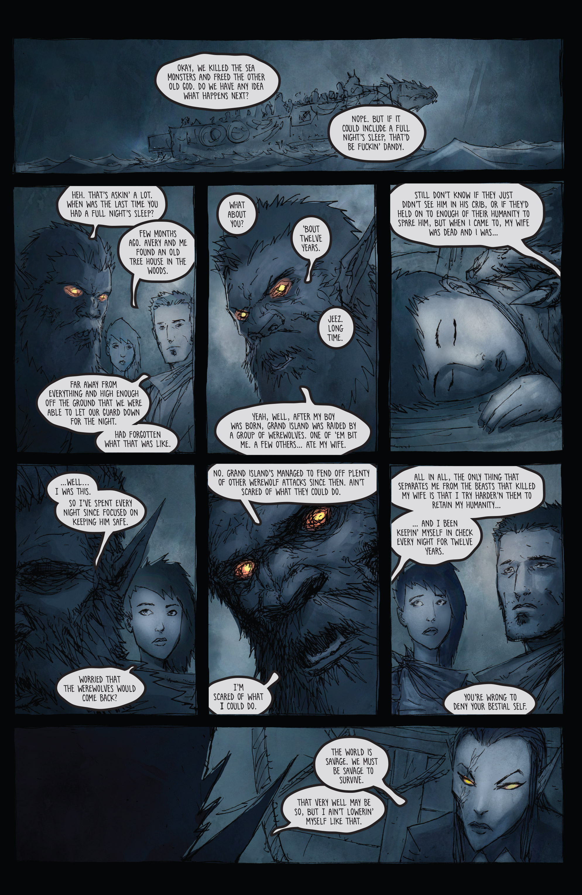 Read online Broken Moon: Legends of the Deep comic -  Issue #5 - 18
