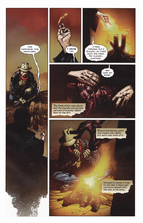 Read online Dark Tower: The Gunslinger - The Man in Black comic -  Issue #5 - 6