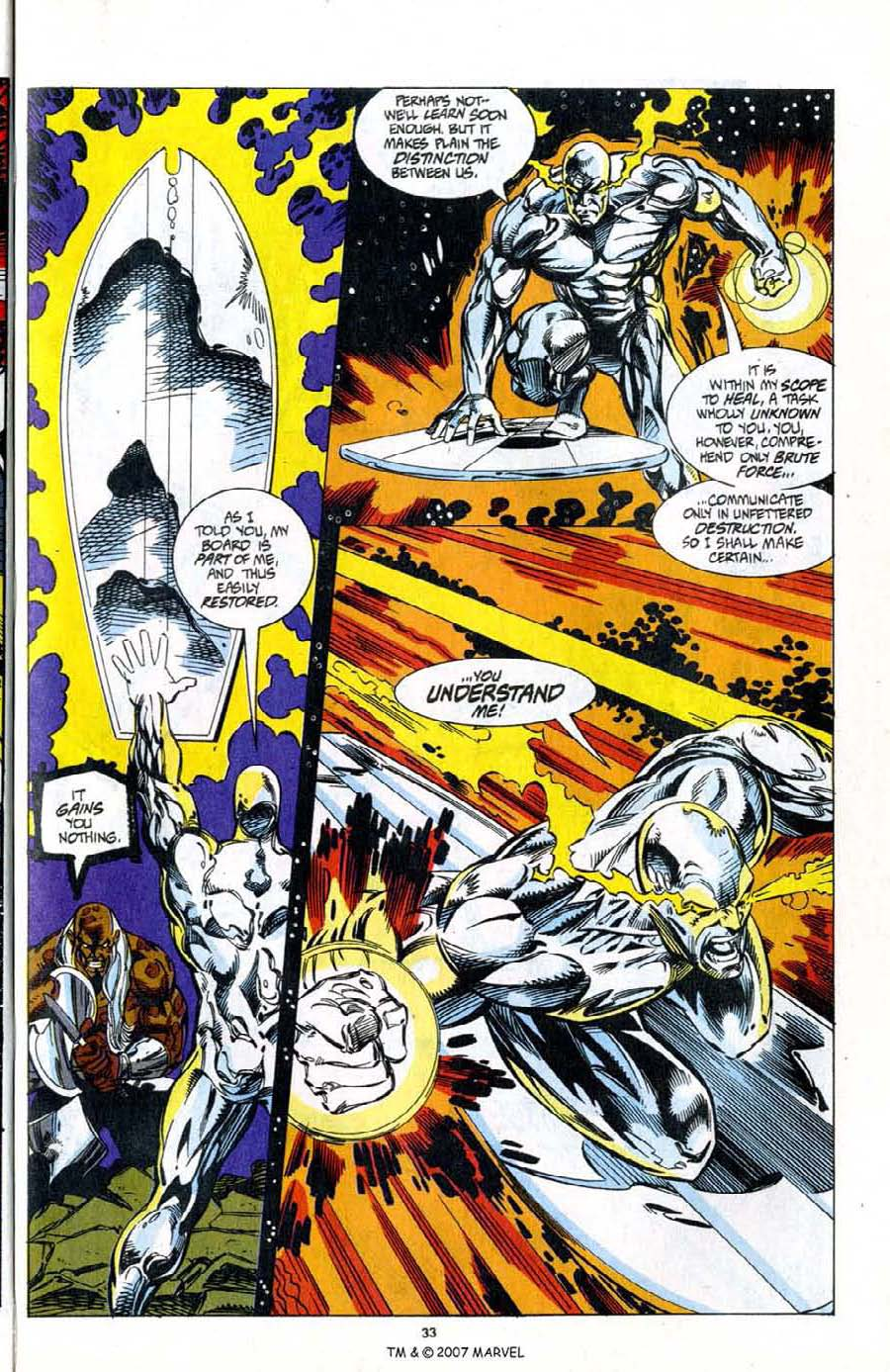 Read online Silver Surfer (1987) comic -  Issue # _Annual 7 - 35